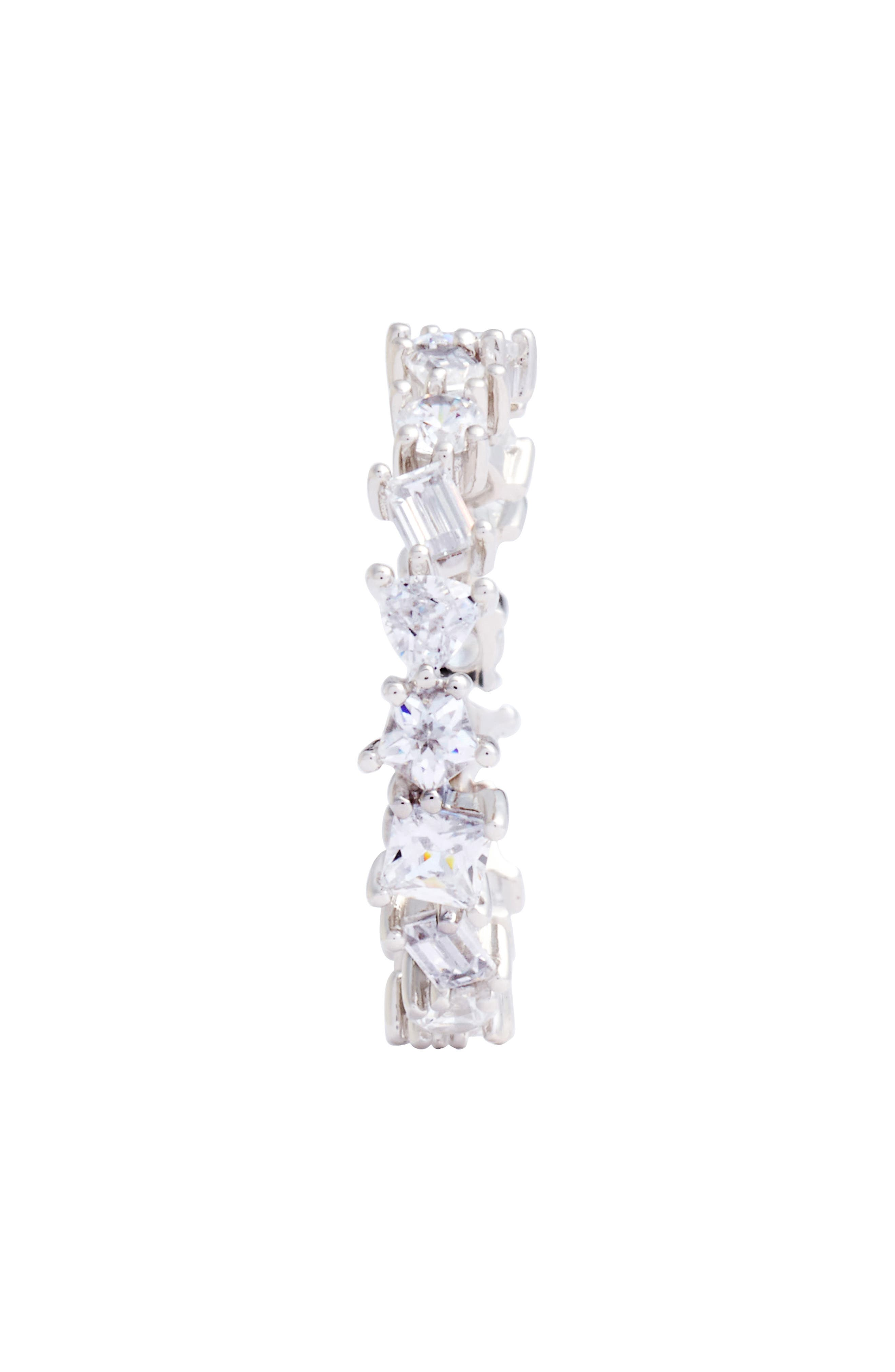 Cubic Zirconia Eternity Ring,                             Alternate thumbnail 2, color,                             040