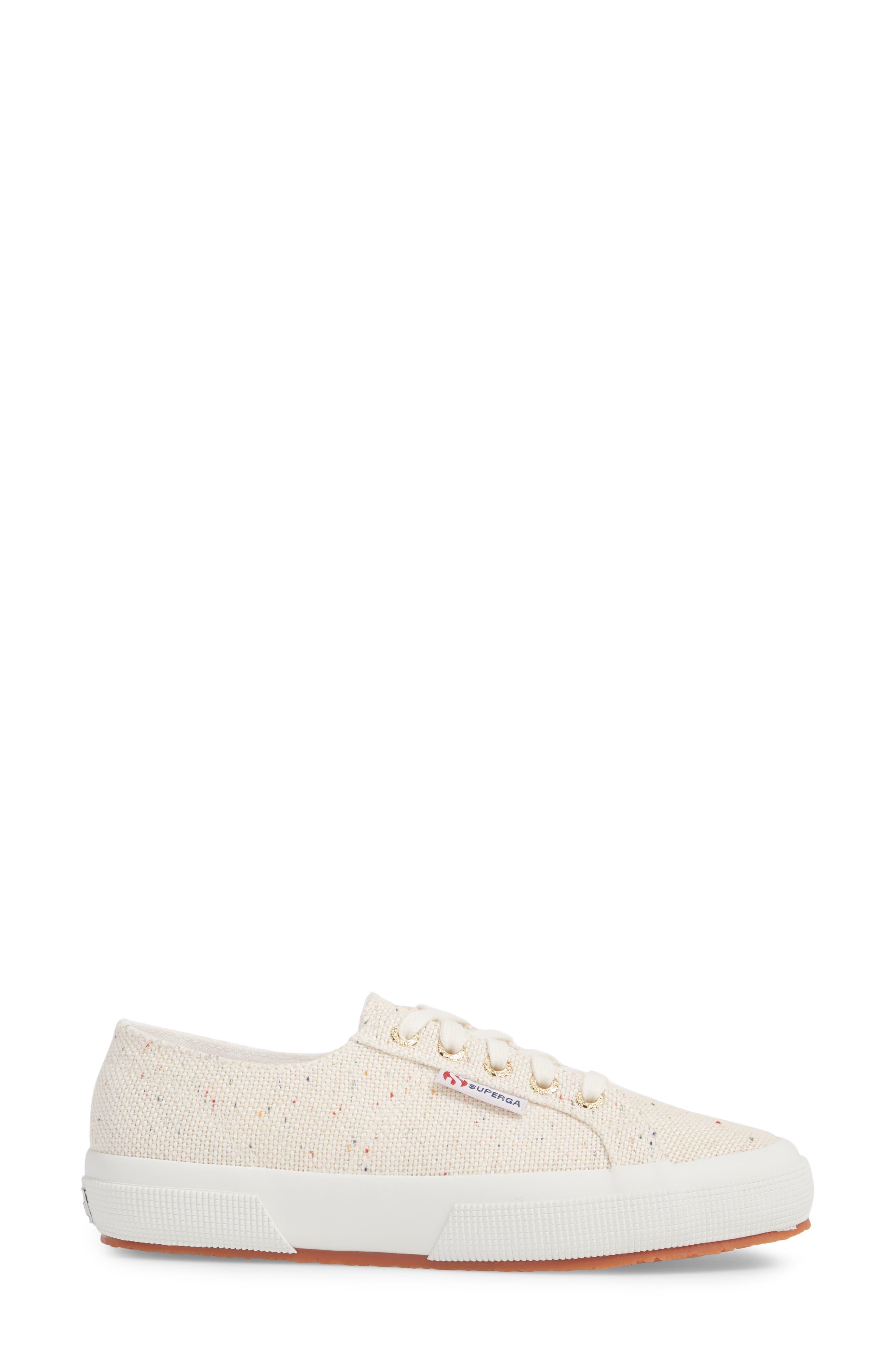 SUPERGA,                             2750 Speckle Low Top Sneaker,                             Alternate thumbnail 3, color,                             900