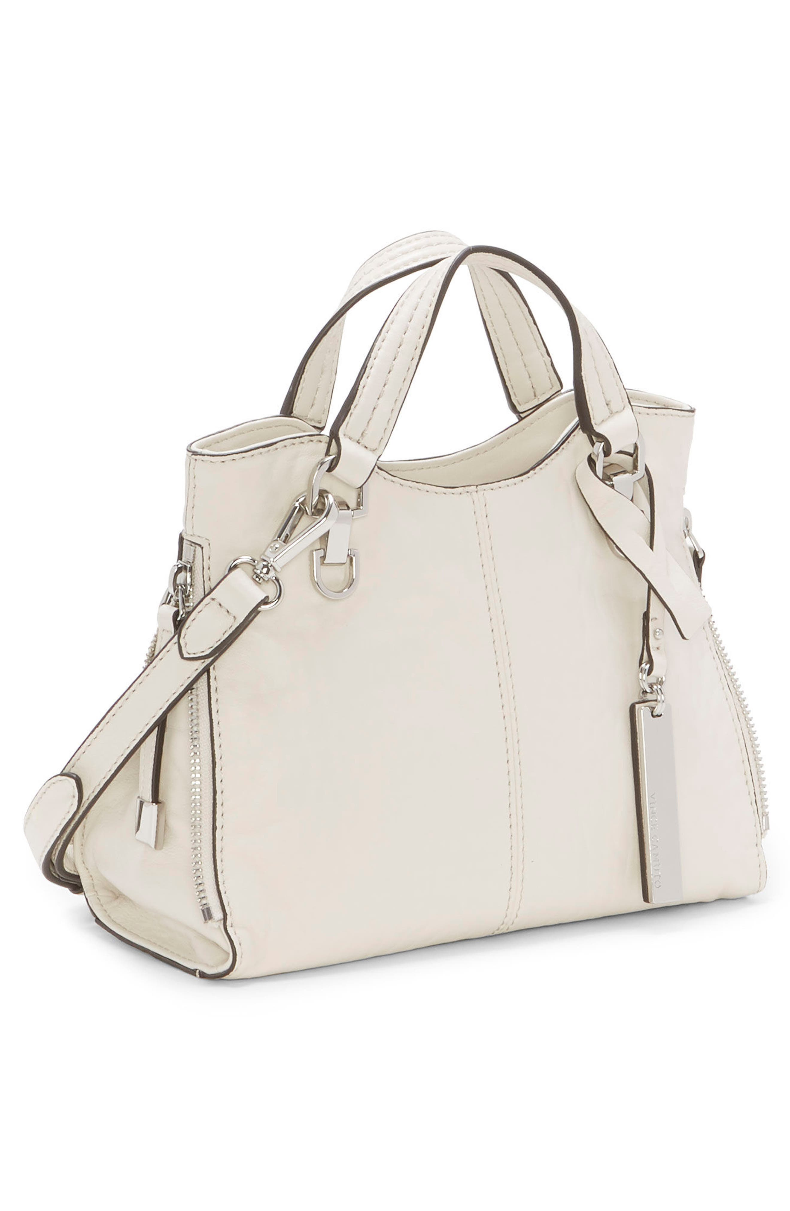 Small Riley Leather Tote,                             Alternate thumbnail 11, color,