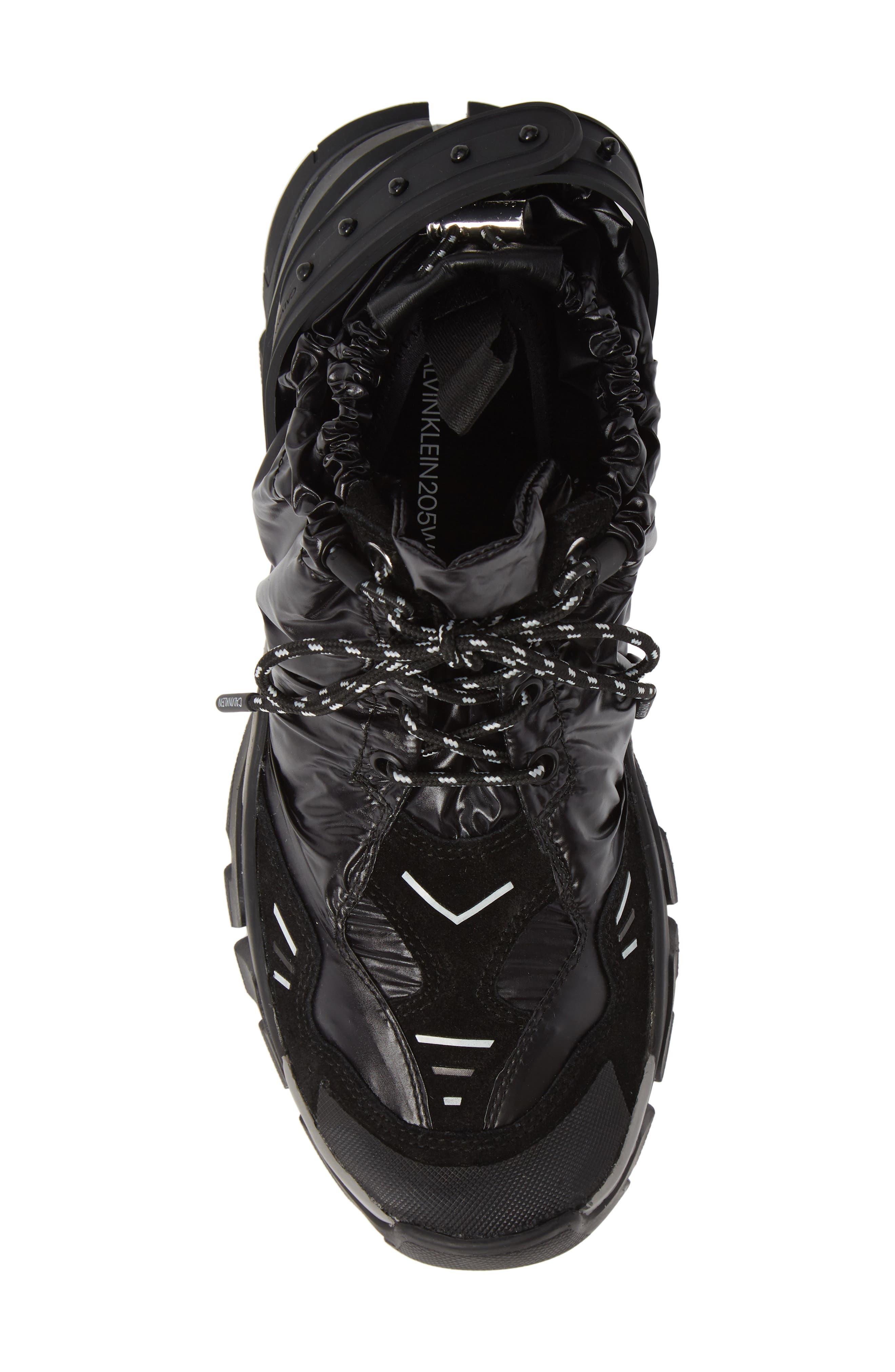 Carsdat 10 Elastic Sneaker,                             Alternate thumbnail 5, color,                             BLACK