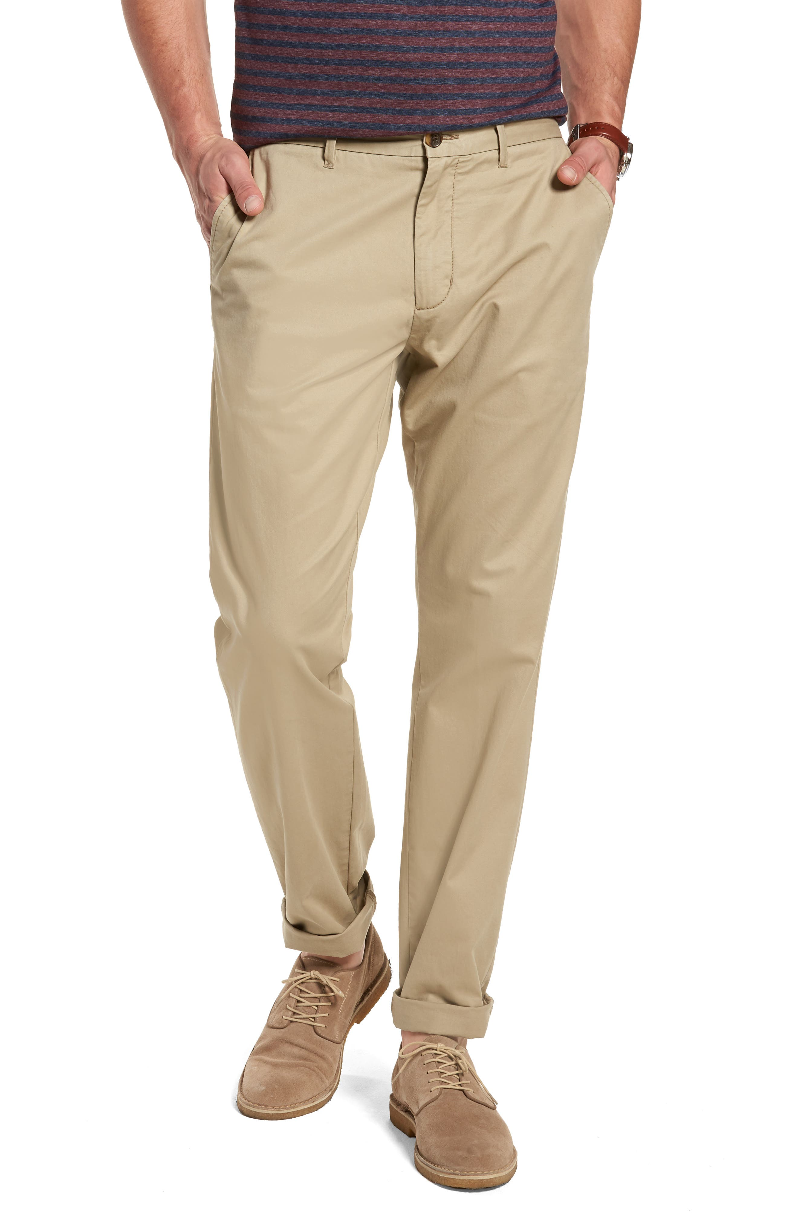 Fremont Relaxed Slim Fit Chinos,                             Main thumbnail 3, color,