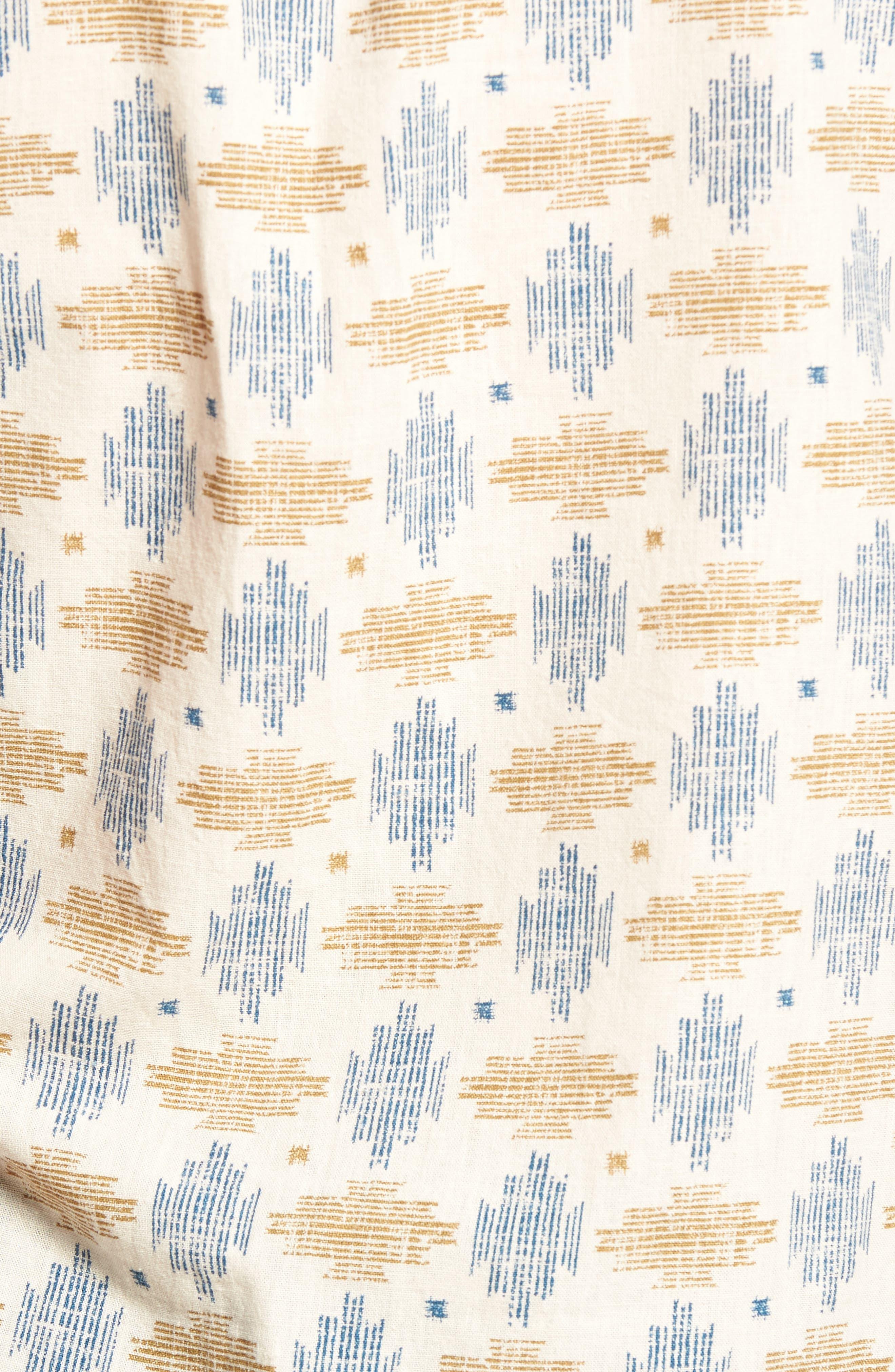Giles Regular Fit Linen & Cotton Sport Shirt,                             Alternate thumbnail 5, color,                             251