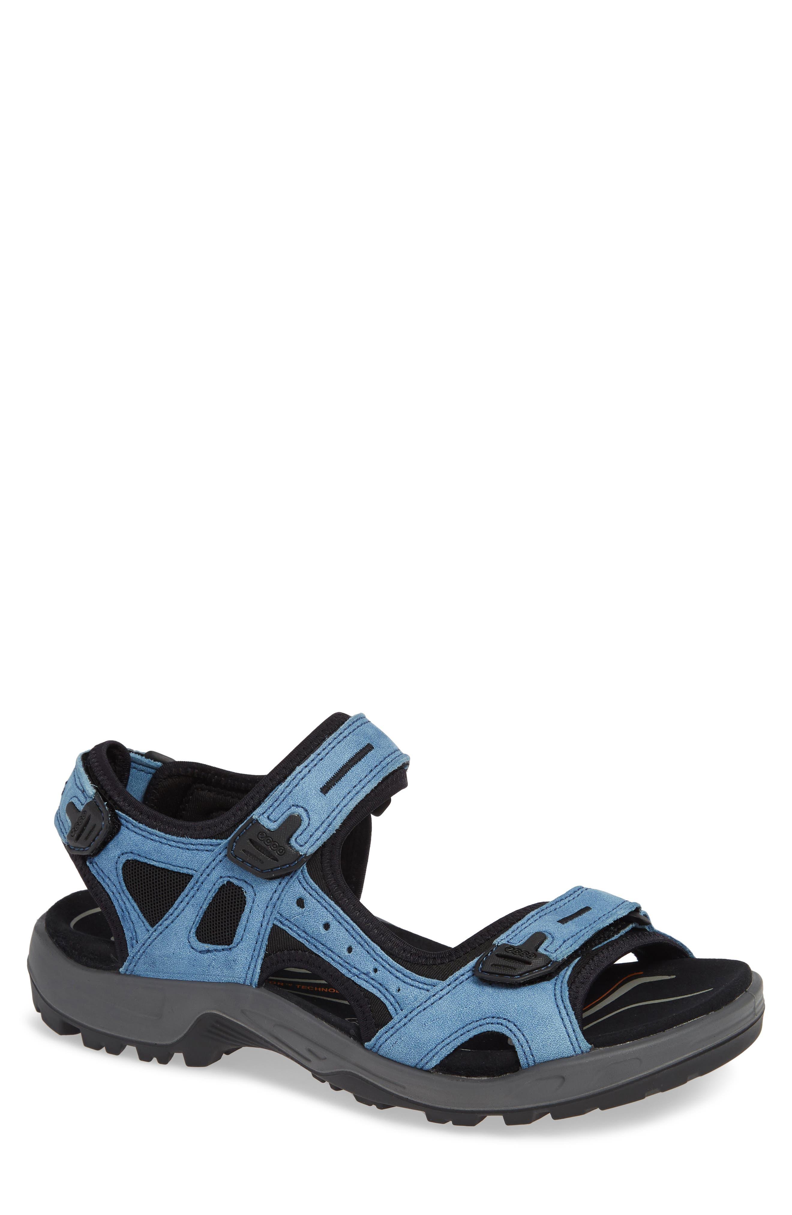 Offroad Sport Sandal,                         Main,                         color, INDIGO LEATHER