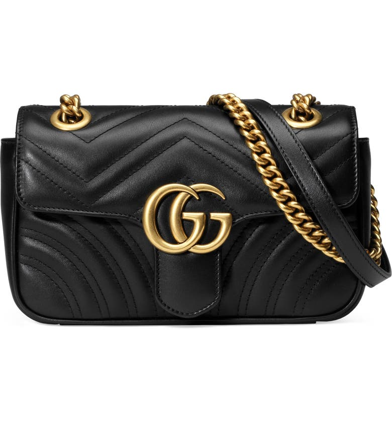 9fd9d48968b7 Gucci Mini GG Marmont 2.0 Matelassé Leather Shoulder Bag