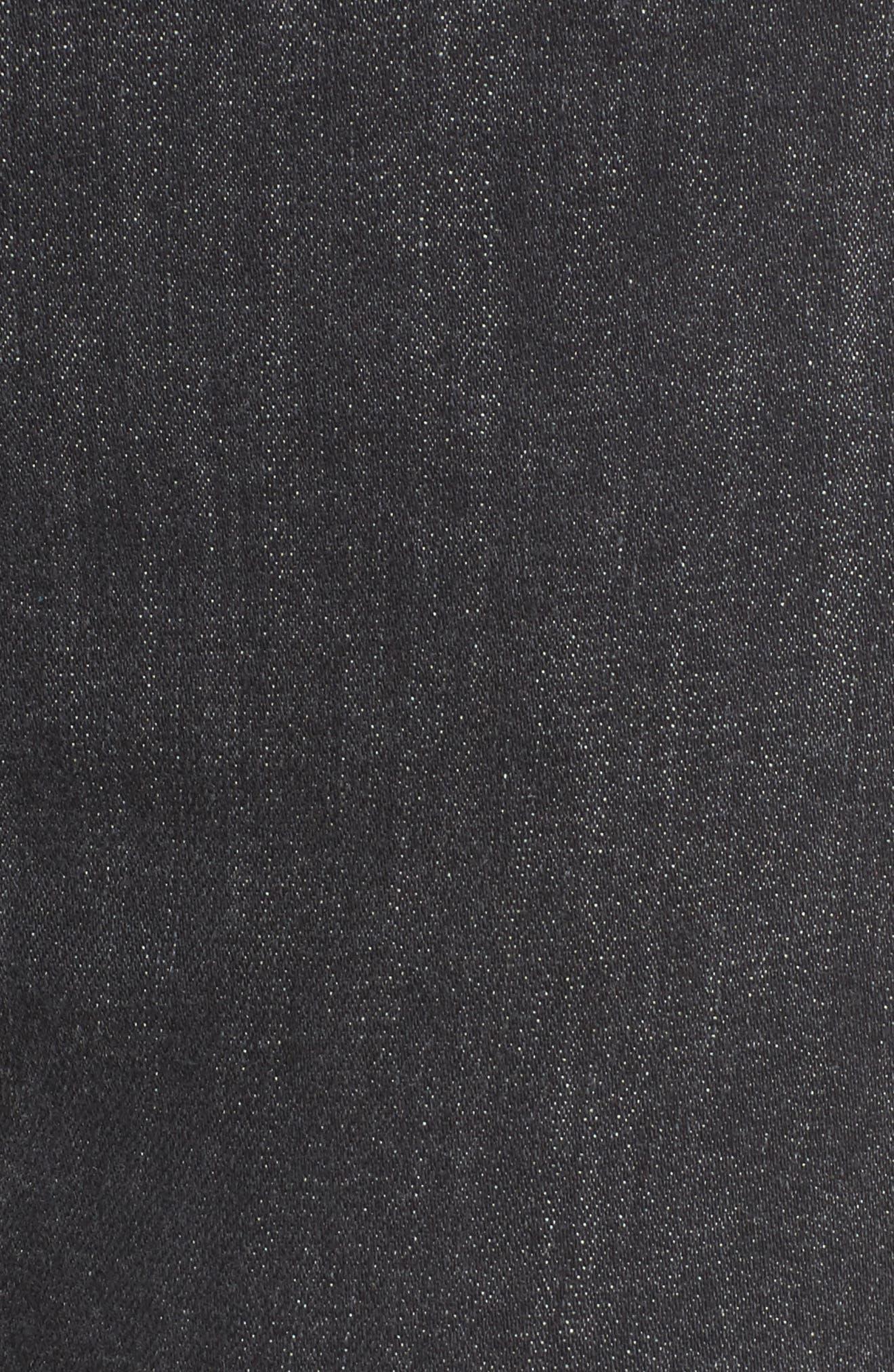 Bullocks High Waist Lace-Up Flare Jeans,                             Alternate thumbnail 5, color,                             064
