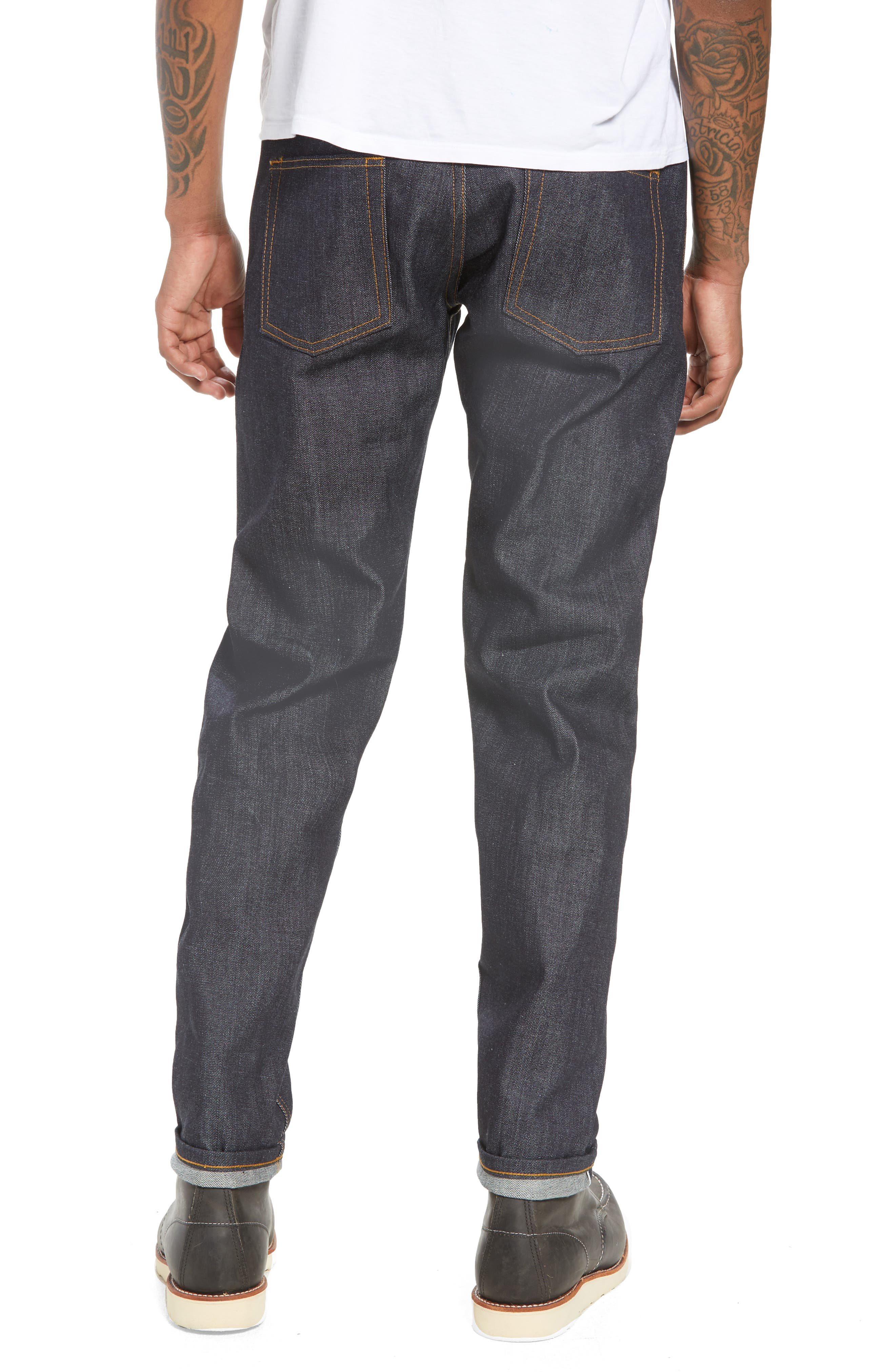 Easy Guy Skinny Fit Jeans,                             Alternate thumbnail 2, color,                             LEFT HAND TWILL SELVEDGE