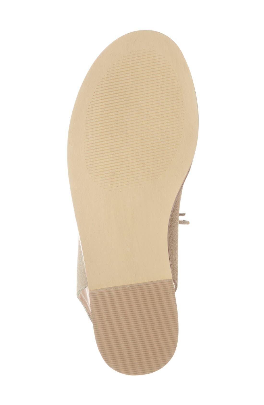 'Cady' Lace-Up Flat Sandal,                             Alternate thumbnail 10, color,
