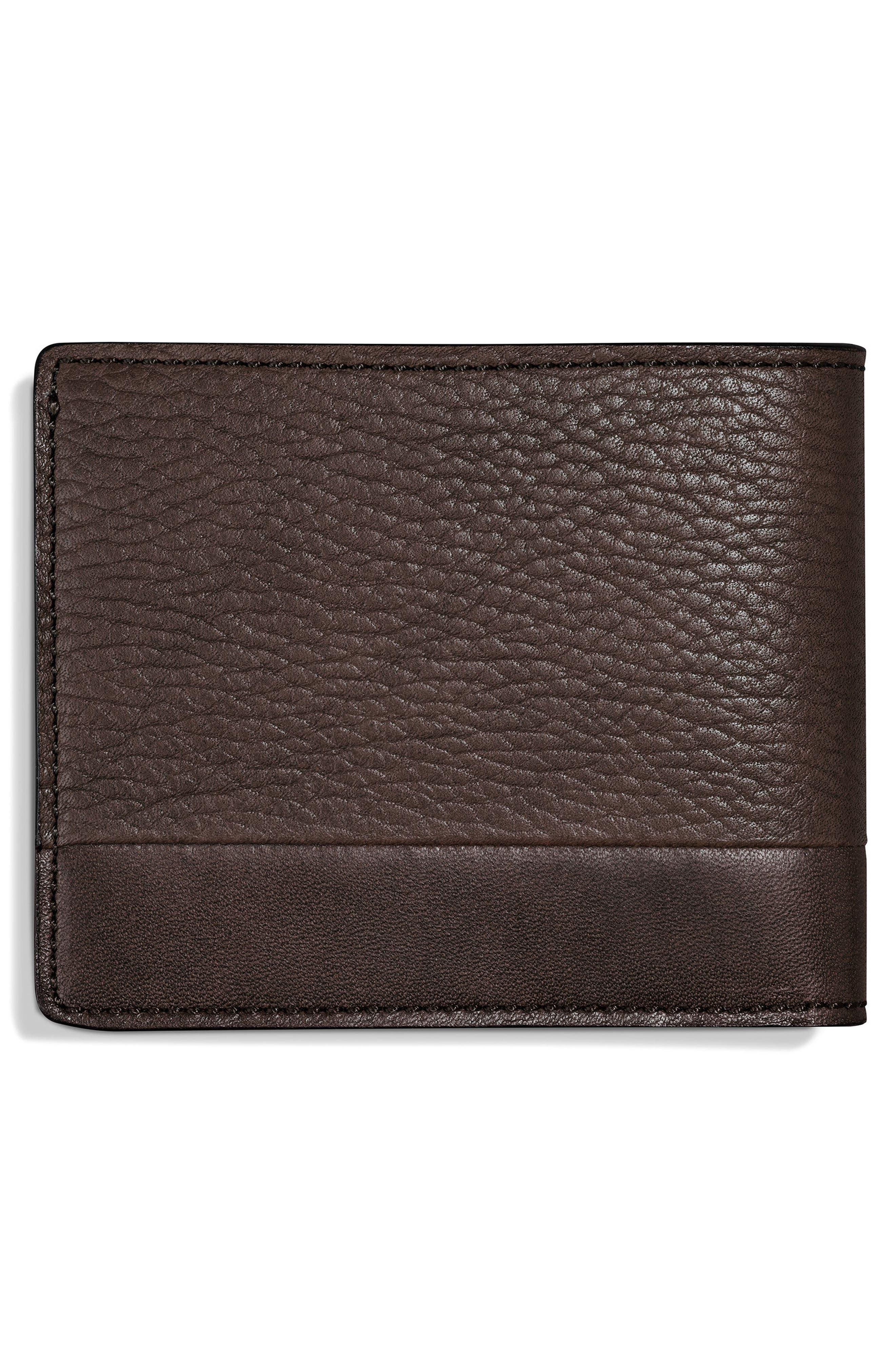 Bolt Leather Wallet,                             Alternate thumbnail 2, color,                             240