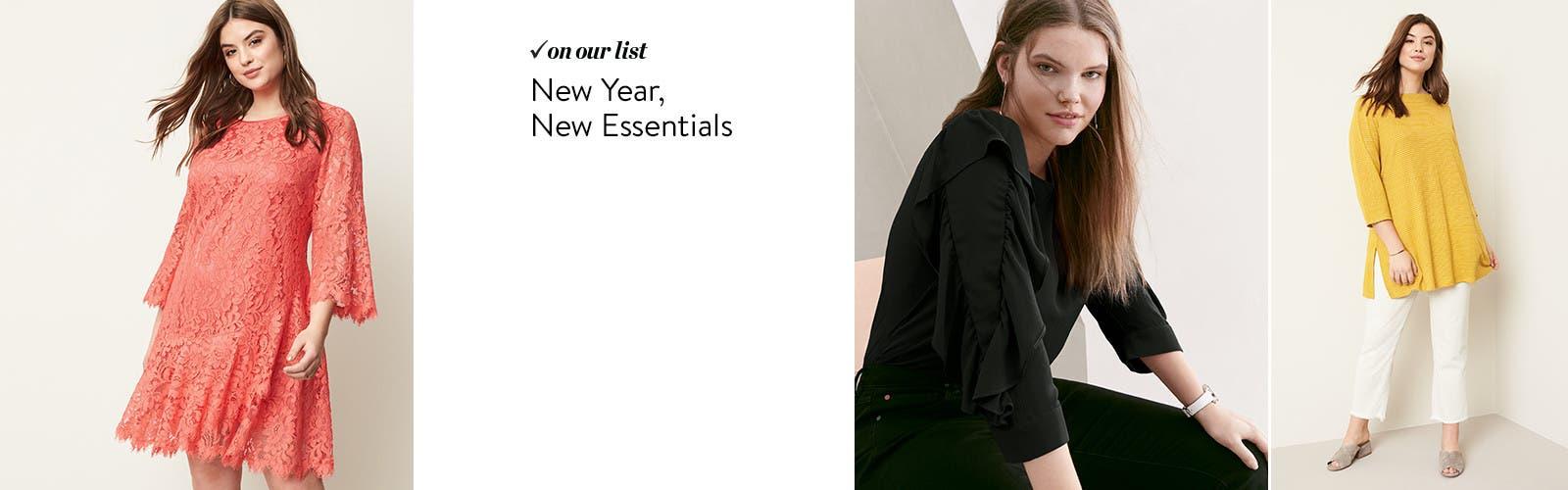 New year, new essentials.