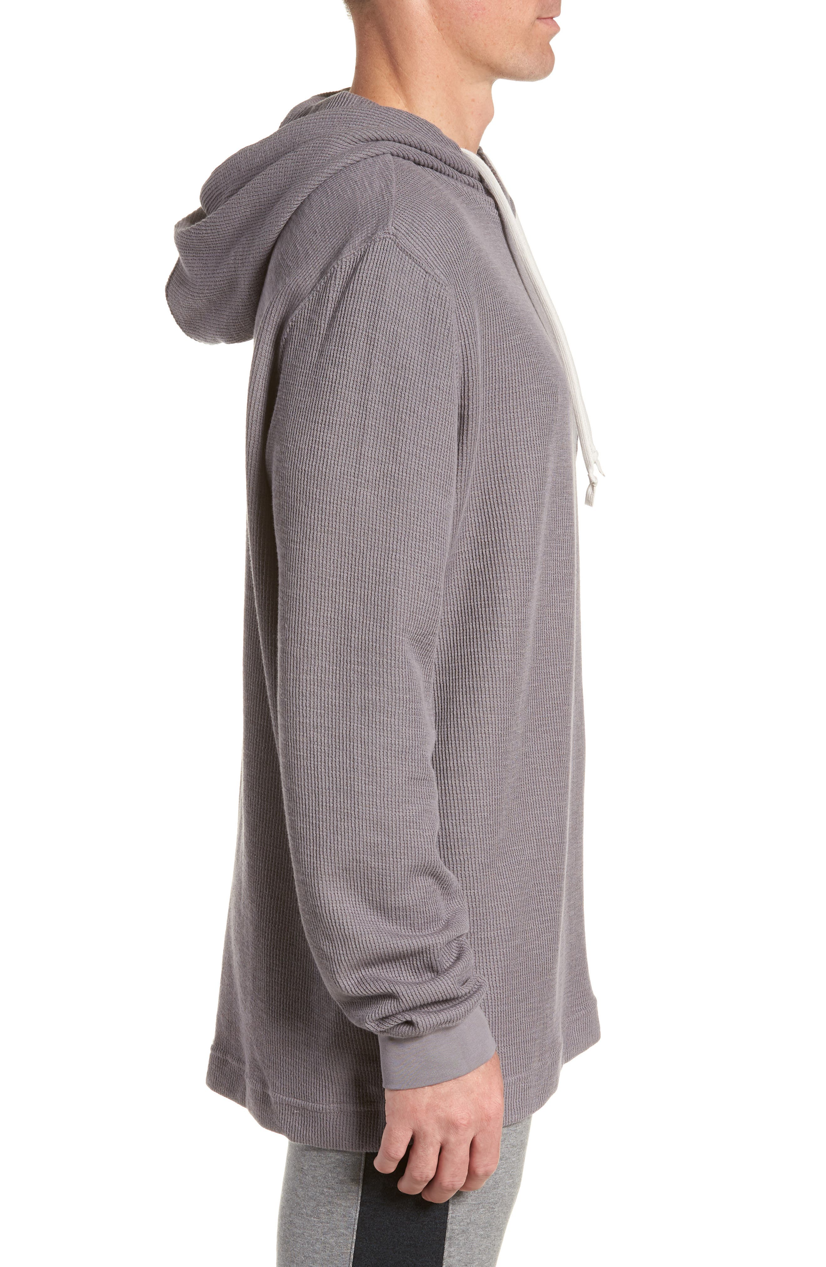 Sportswear AF-1 Hoodie,                             Alternate thumbnail 3, color,                             GUNSMOKE