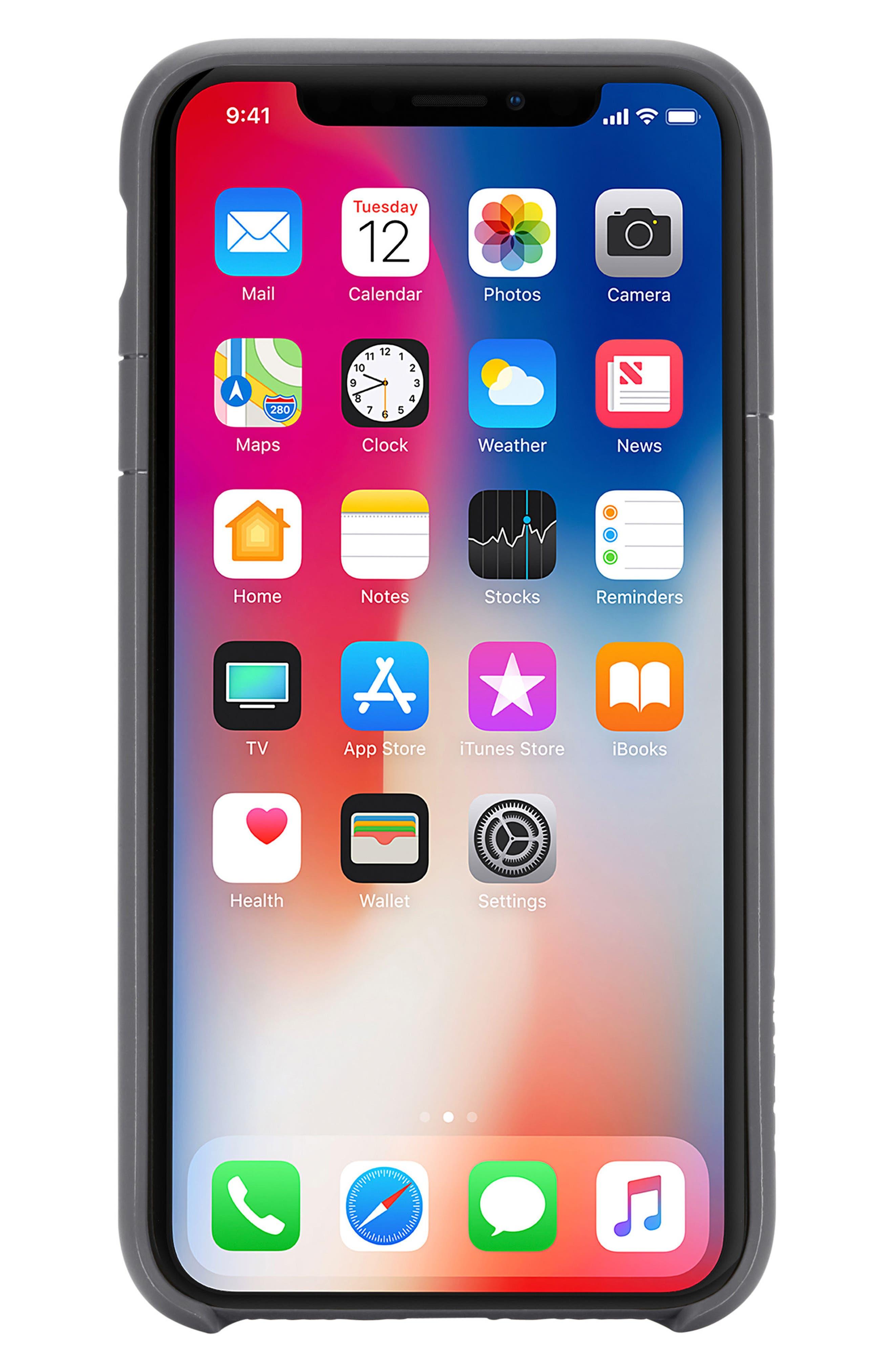 Lite iPhone iPhone X & Xs Case,                             Main thumbnail 2, color,