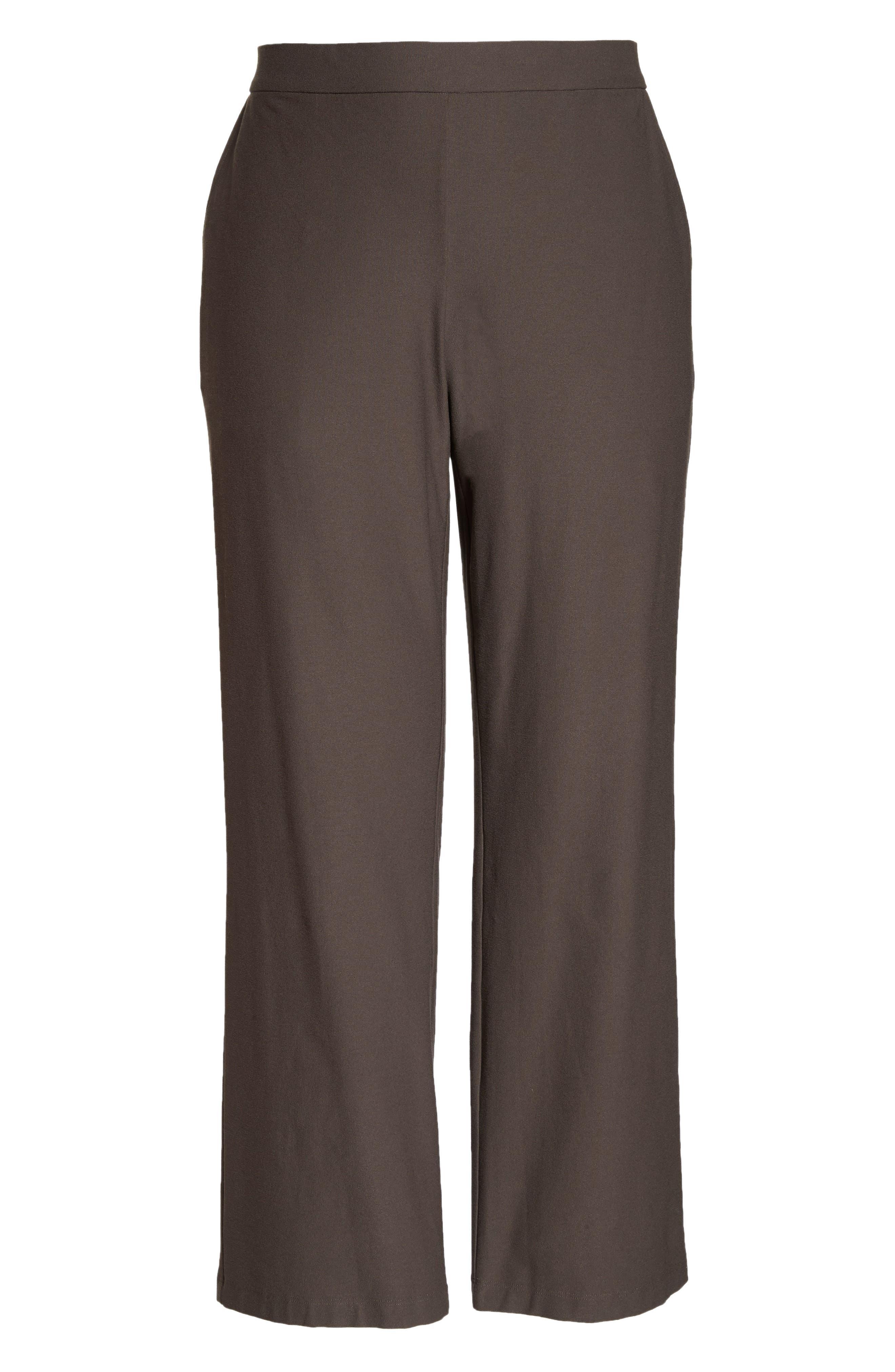 High Rise Straight Leg Knit Pants,                             Alternate thumbnail 6, color,                             273