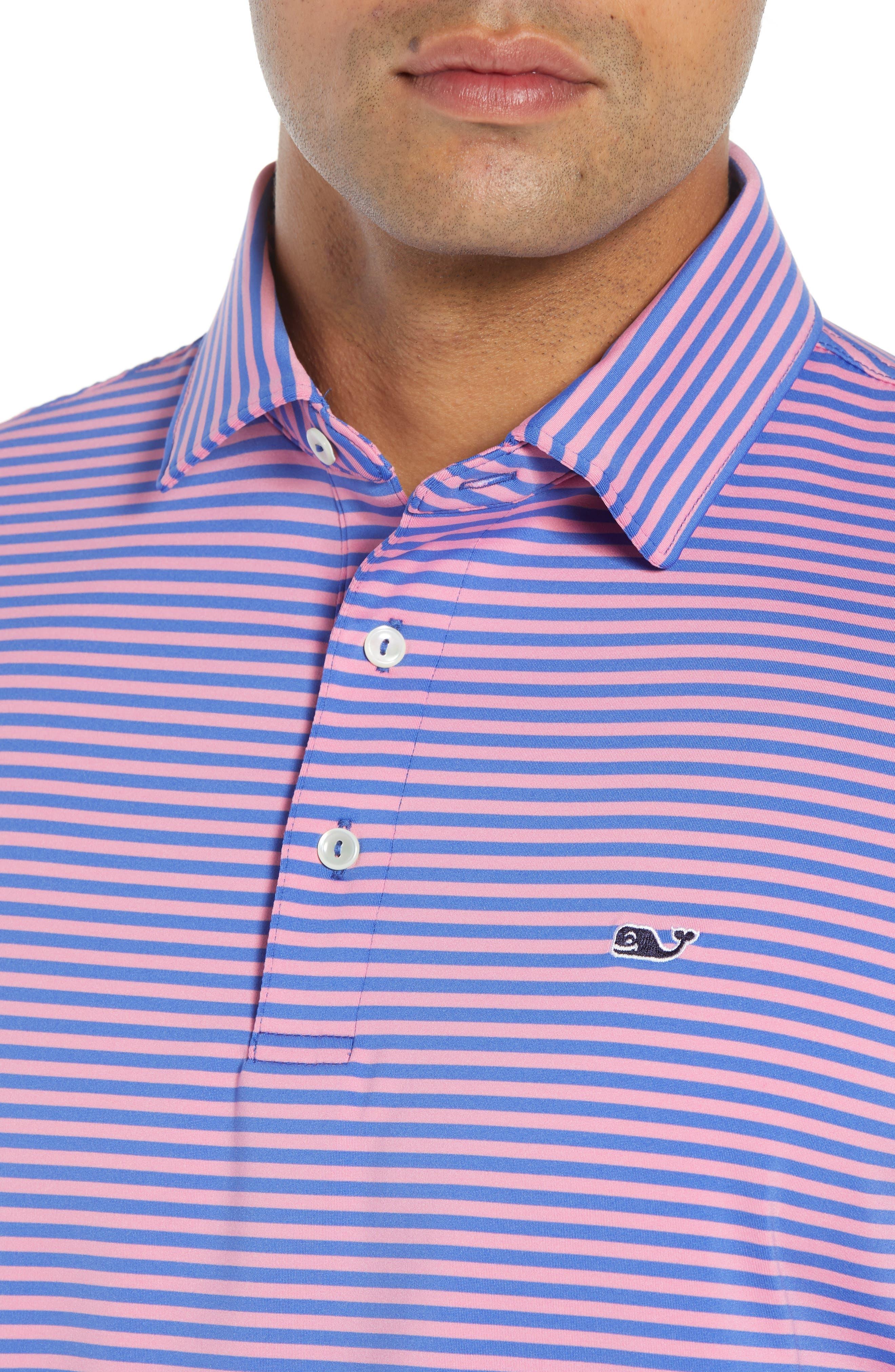 Kennedy Stripe Golf Polo,                             Alternate thumbnail 62, color,