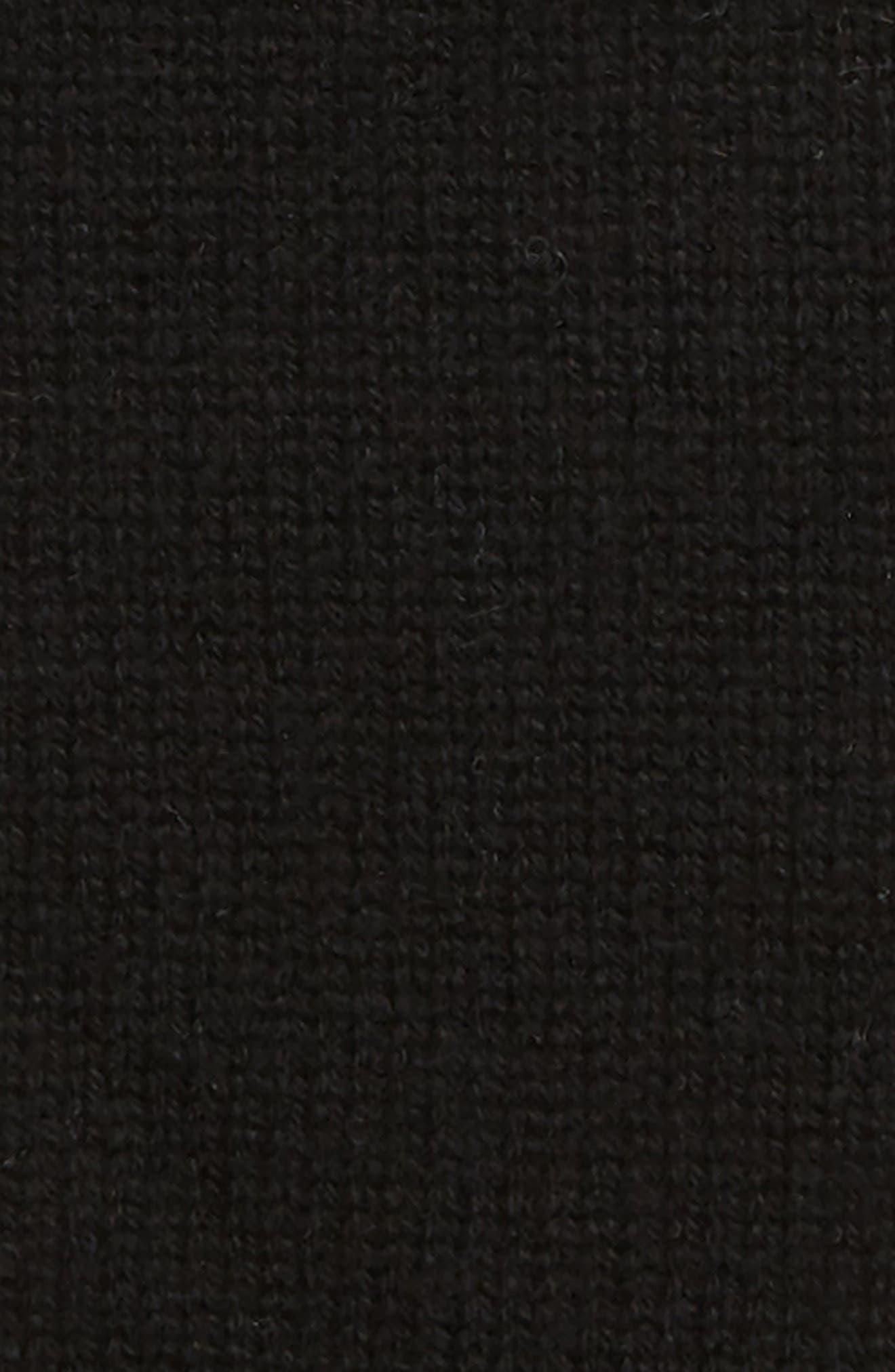 Rolled Edge Gloves,                             Alternate thumbnail 2, color,                             BLACK