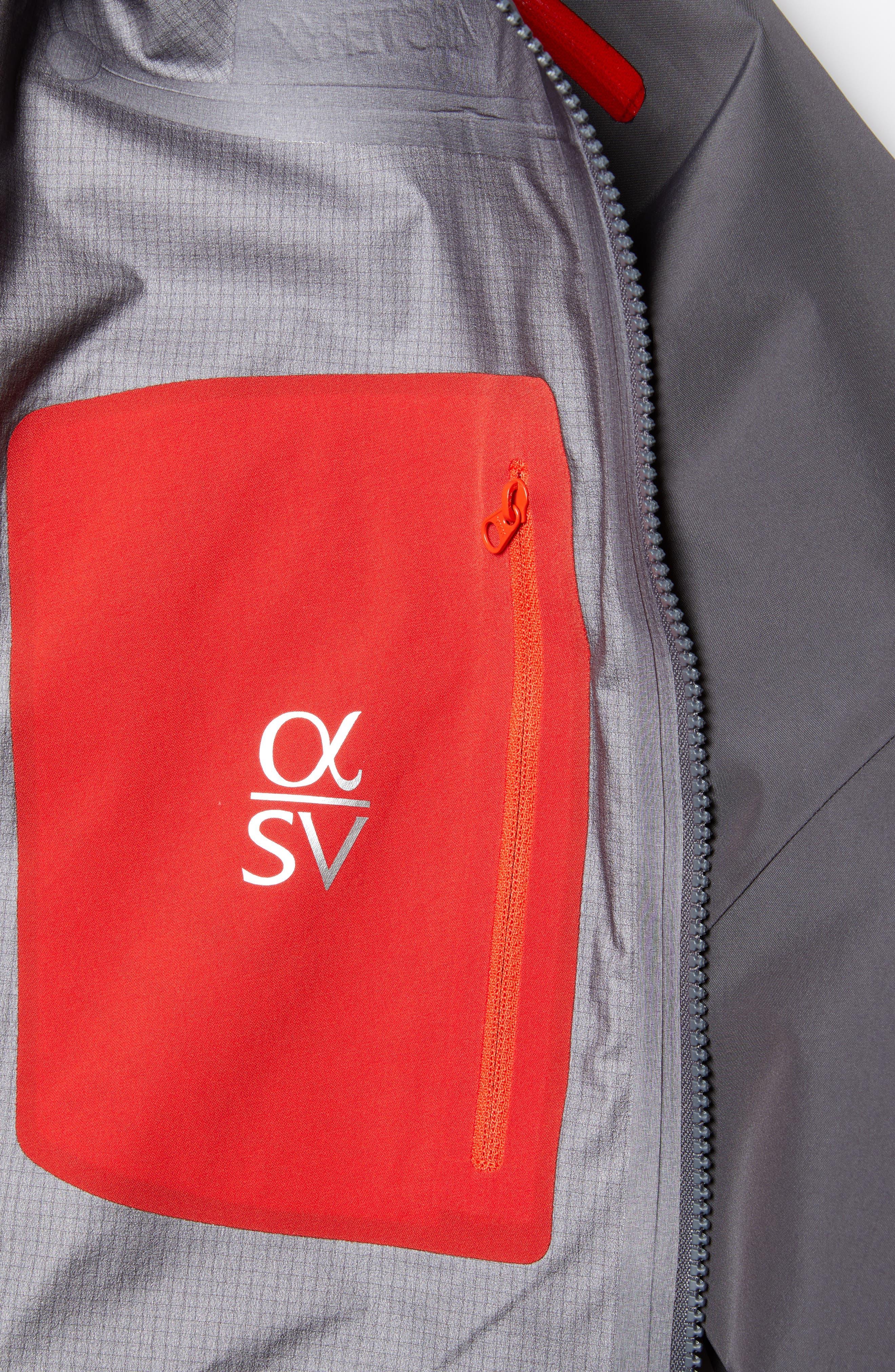 ARC'TERYX,                             Alpha SV Men's Jacket,                             Alternate thumbnail 7, color,                             PILOT