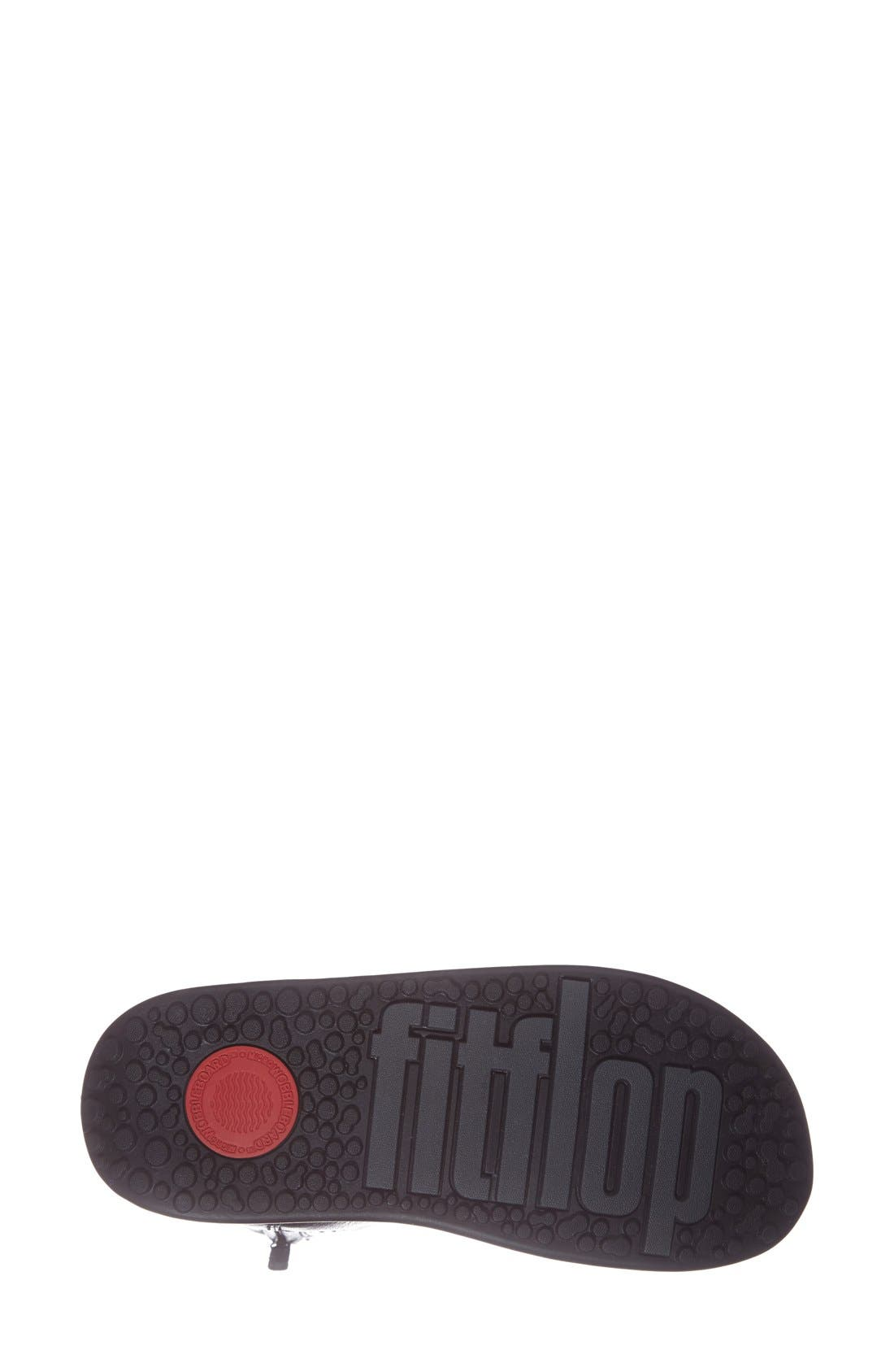 FITFLOP,                              'Superboot' Leather Boot,                             Alternate thumbnail 3, color,                             018
