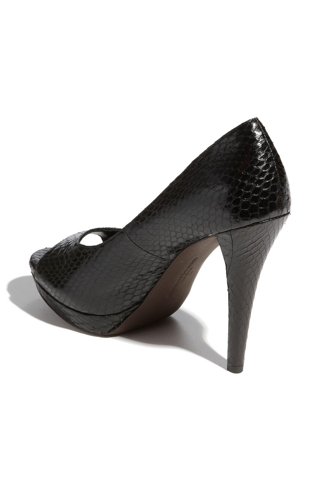 Footwear 'Selima' Peep Toe Pump,                             Alternate thumbnail 19, color,