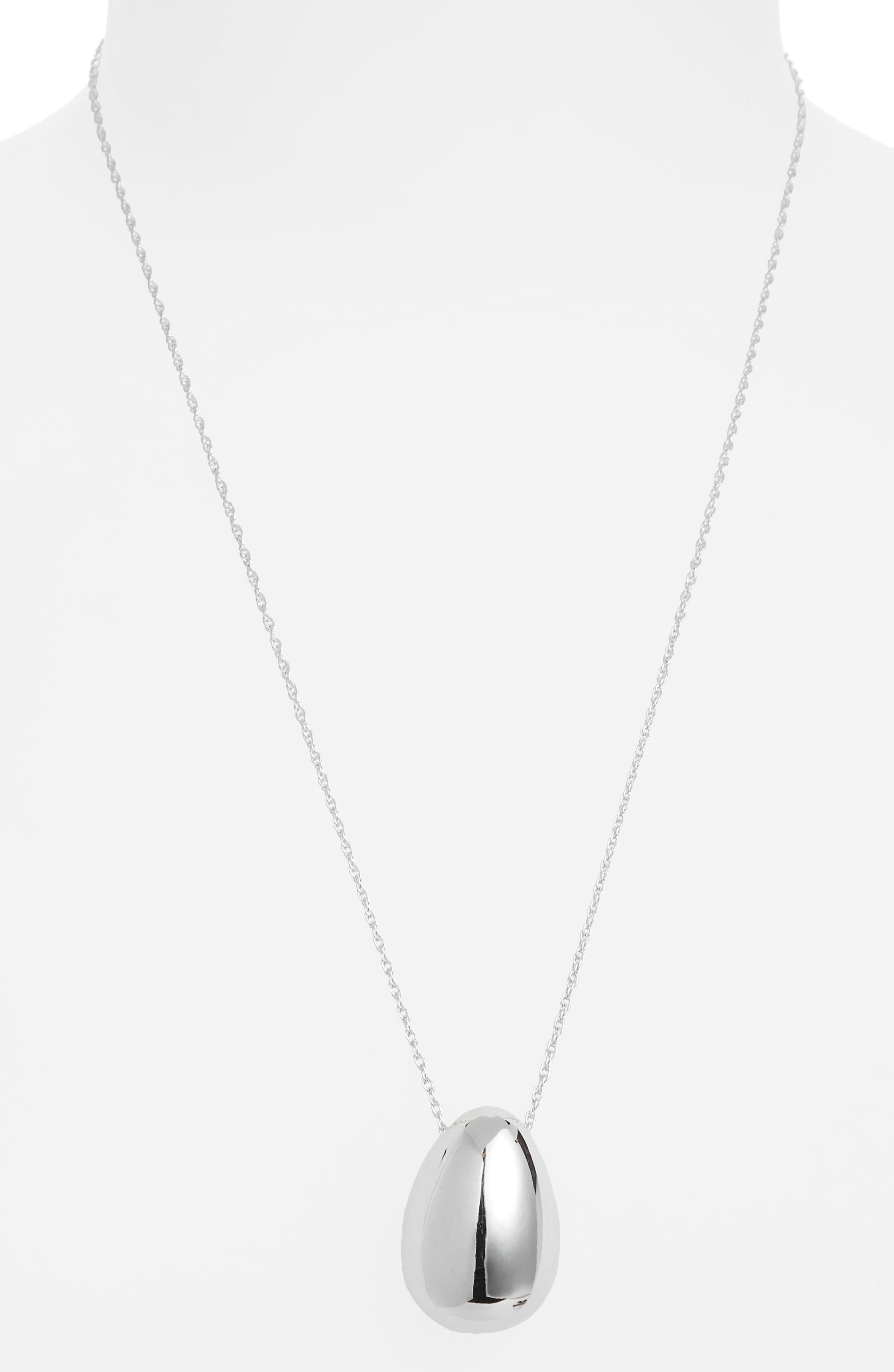 Everyday Egg Pendant Necklace,                             Alternate thumbnail 2, color,                             040