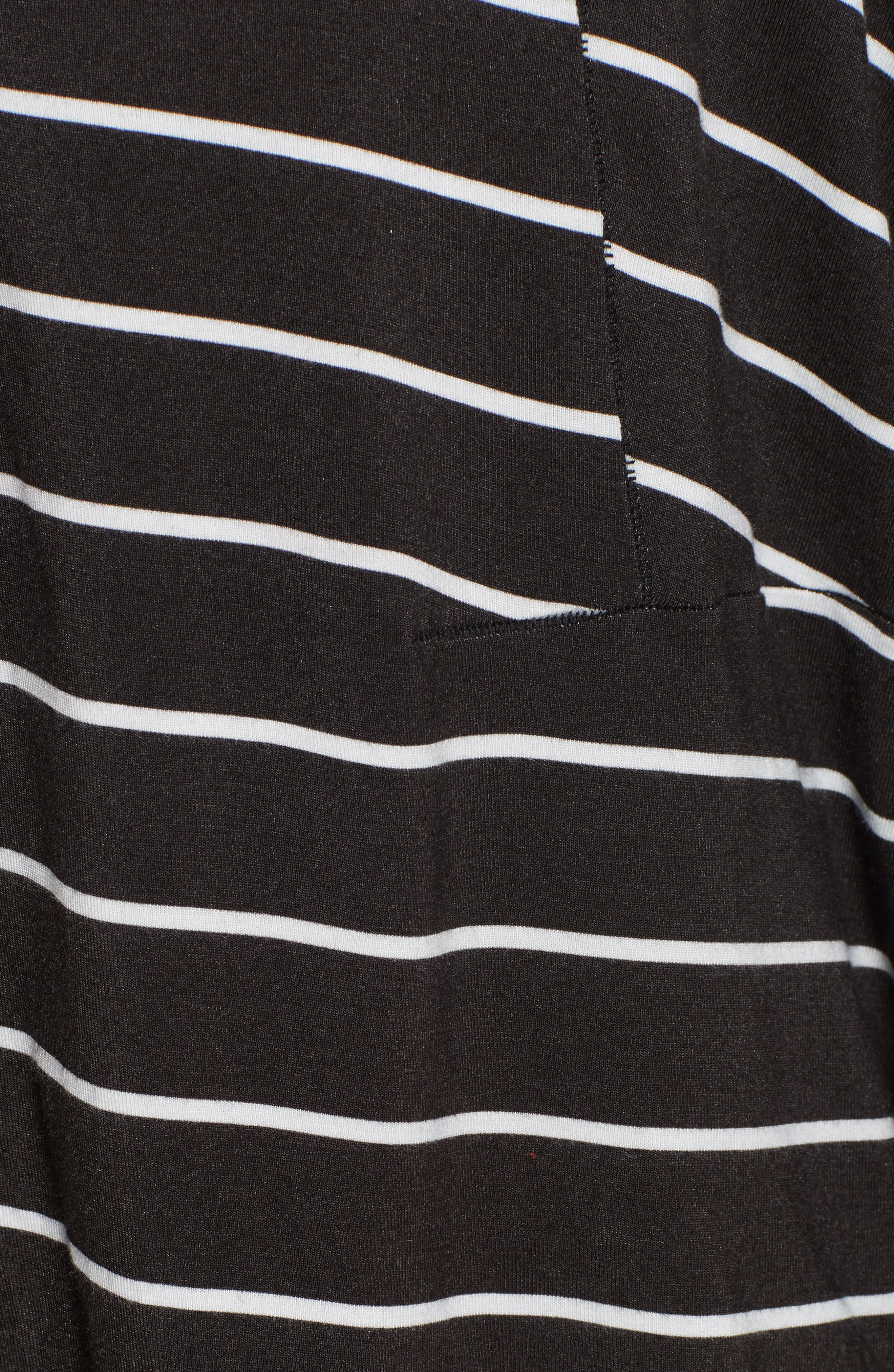 Can't Fool Me Stripe Top,                             Alternate thumbnail 5, color,                             001