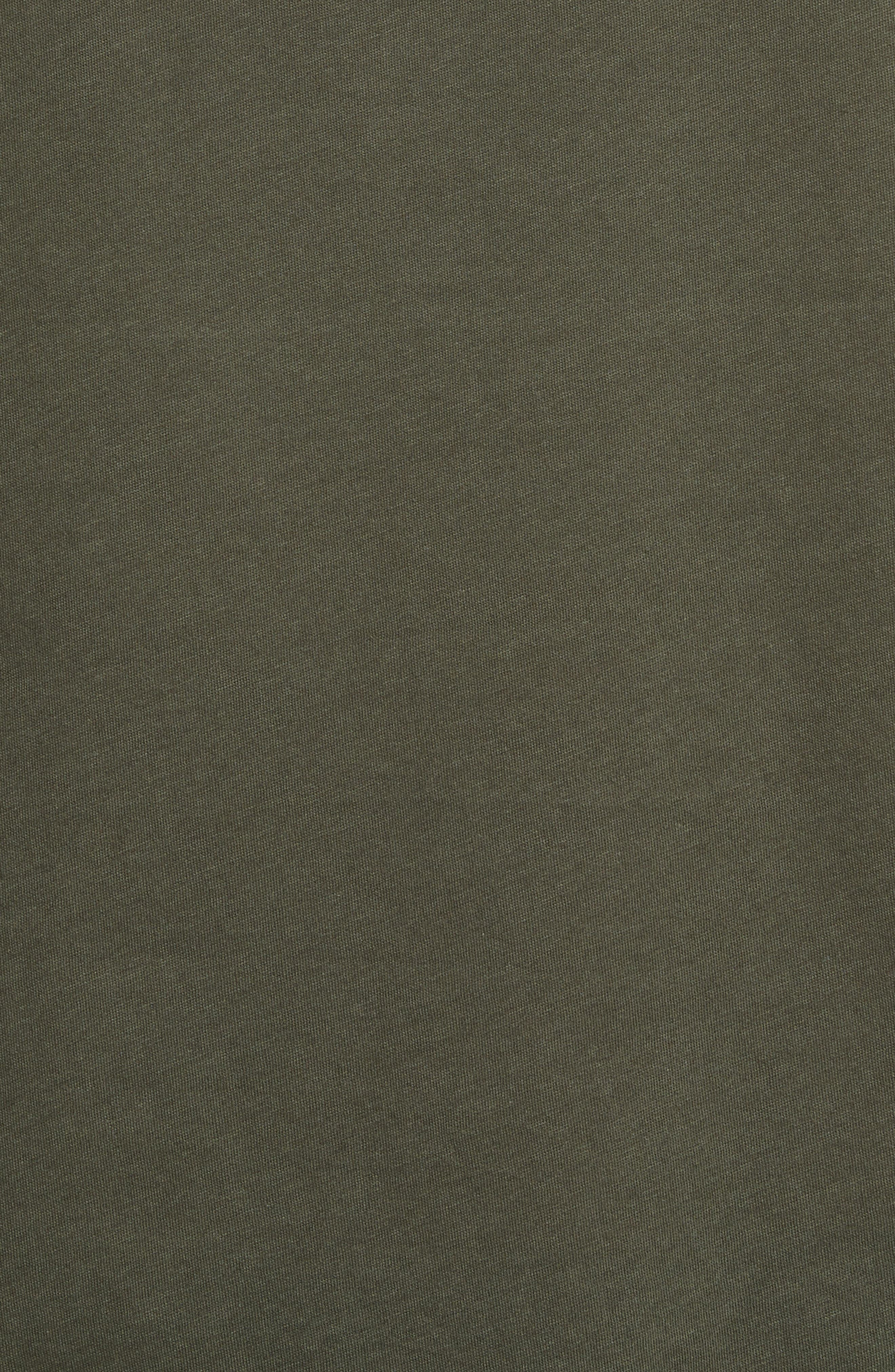 Leather Pocket T-Shirt,                             Alternate thumbnail 5, color,                             300