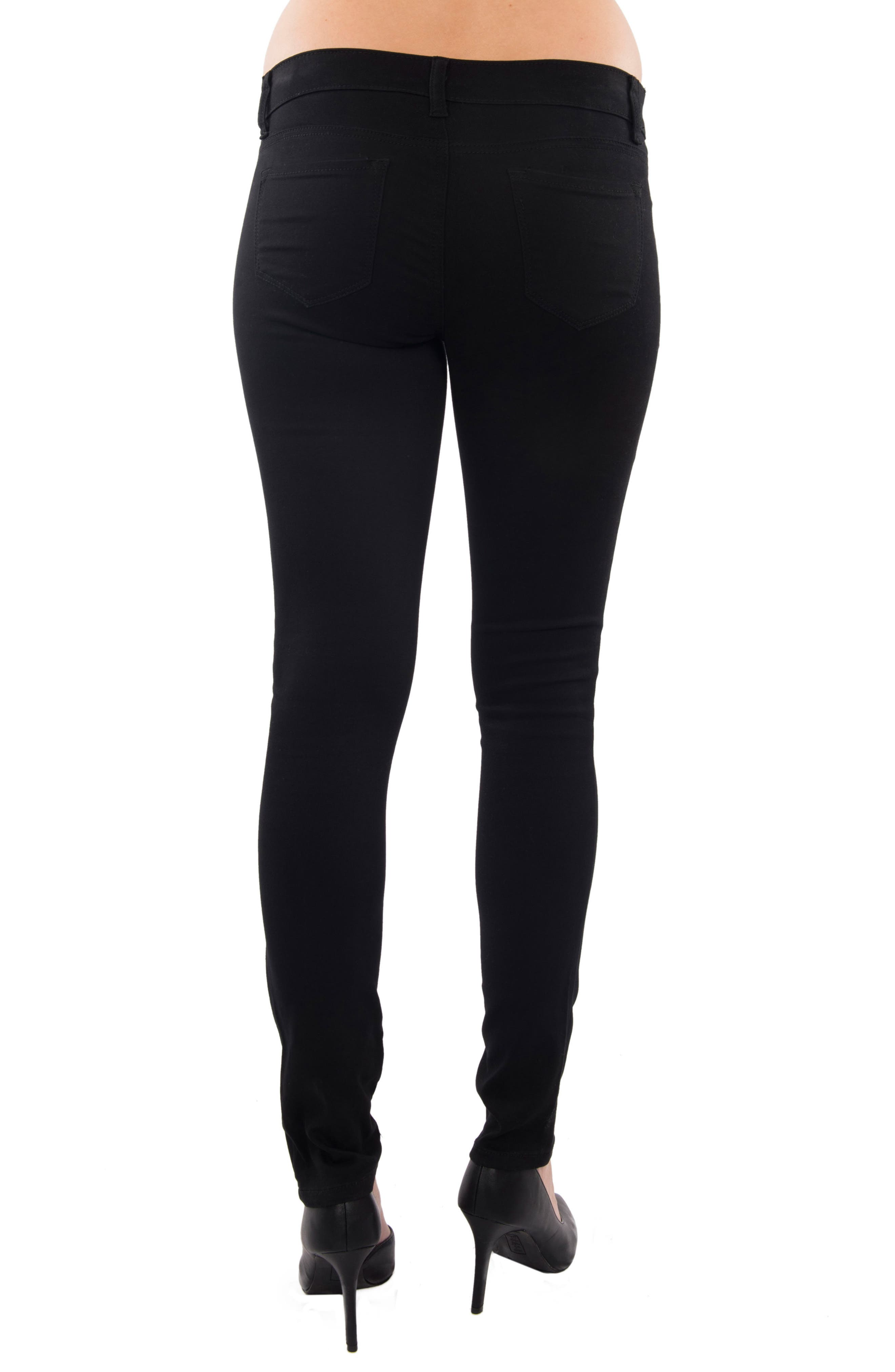 EVERLY GREY,                             Aria Maternity Skinny Jeans,                             Alternate thumbnail 2, color,                             001