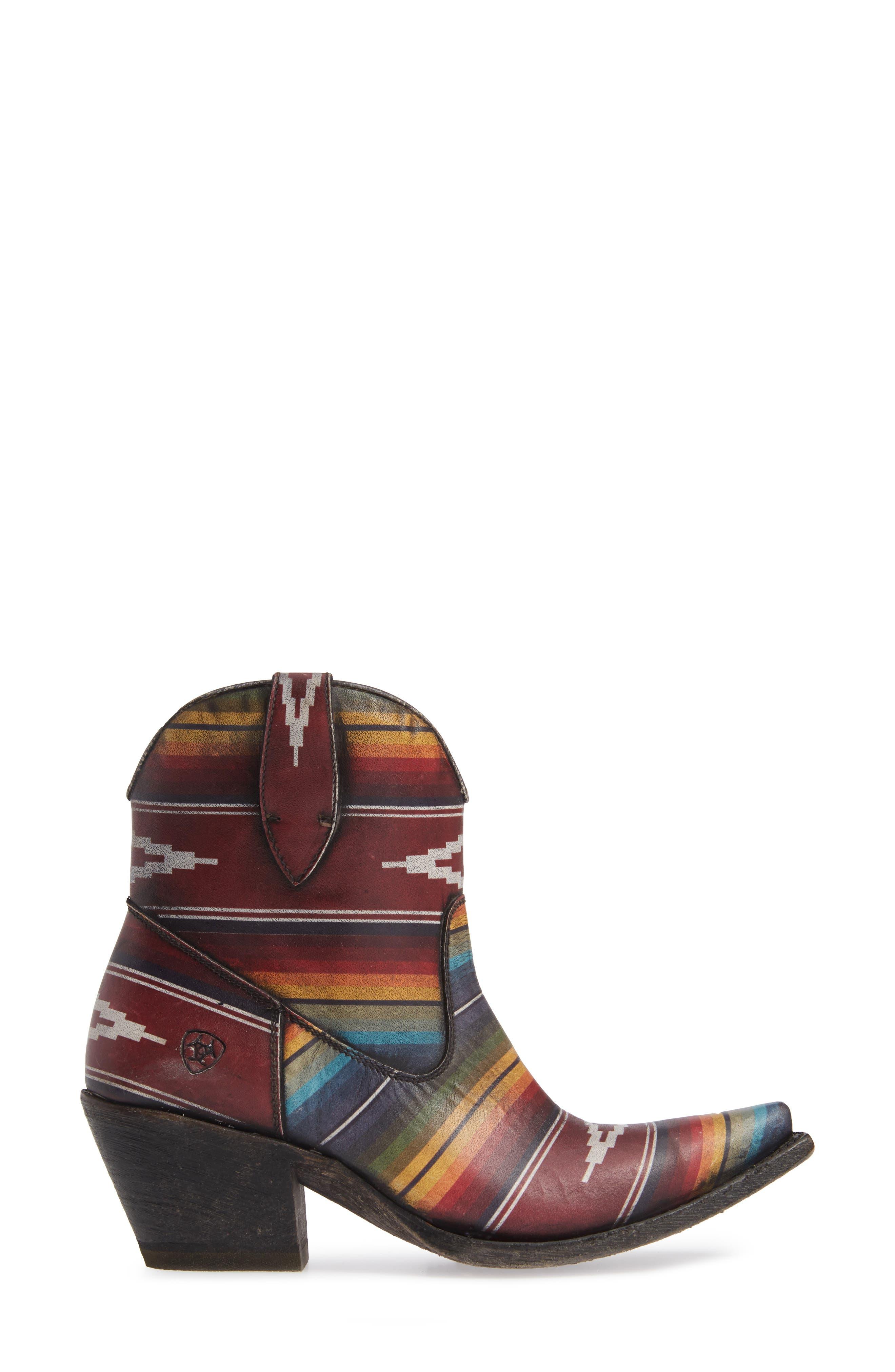 Circuit Cruz Western Boot,                             Alternate thumbnail 3, color,                             SADDLE BLANKET LEATHER