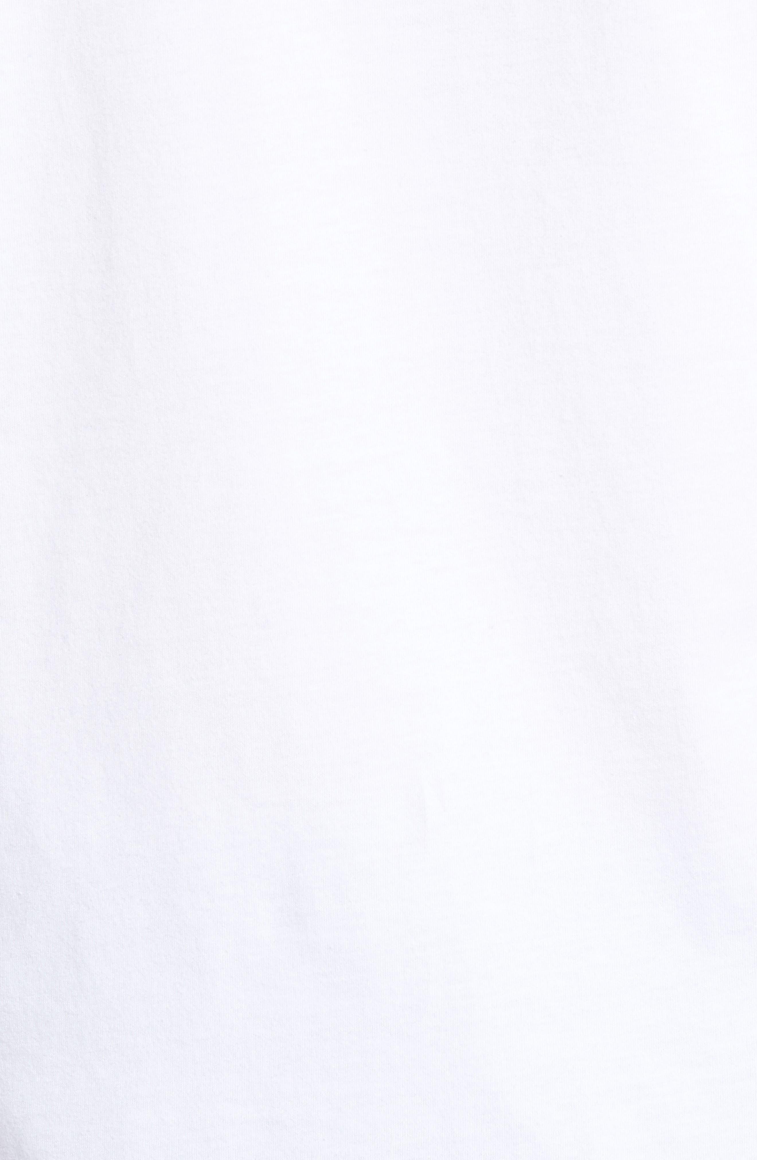 Frankenstein Whale Graphic Long Sleeve T-Shirt,                             Alternate thumbnail 5, color,                             100