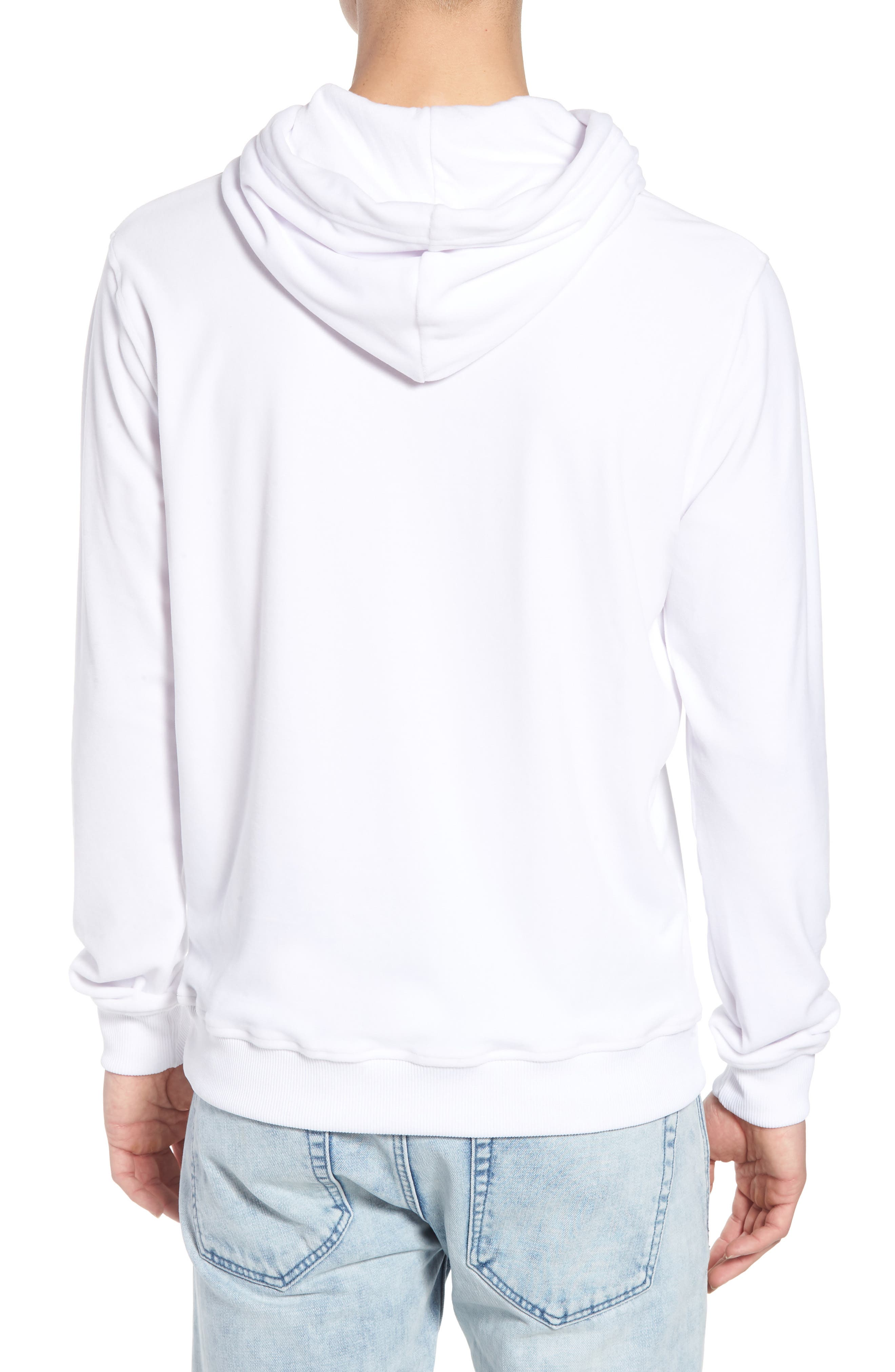 Asher Velour Hoodie Sweatshirt,                             Alternate thumbnail 2, color,                             100