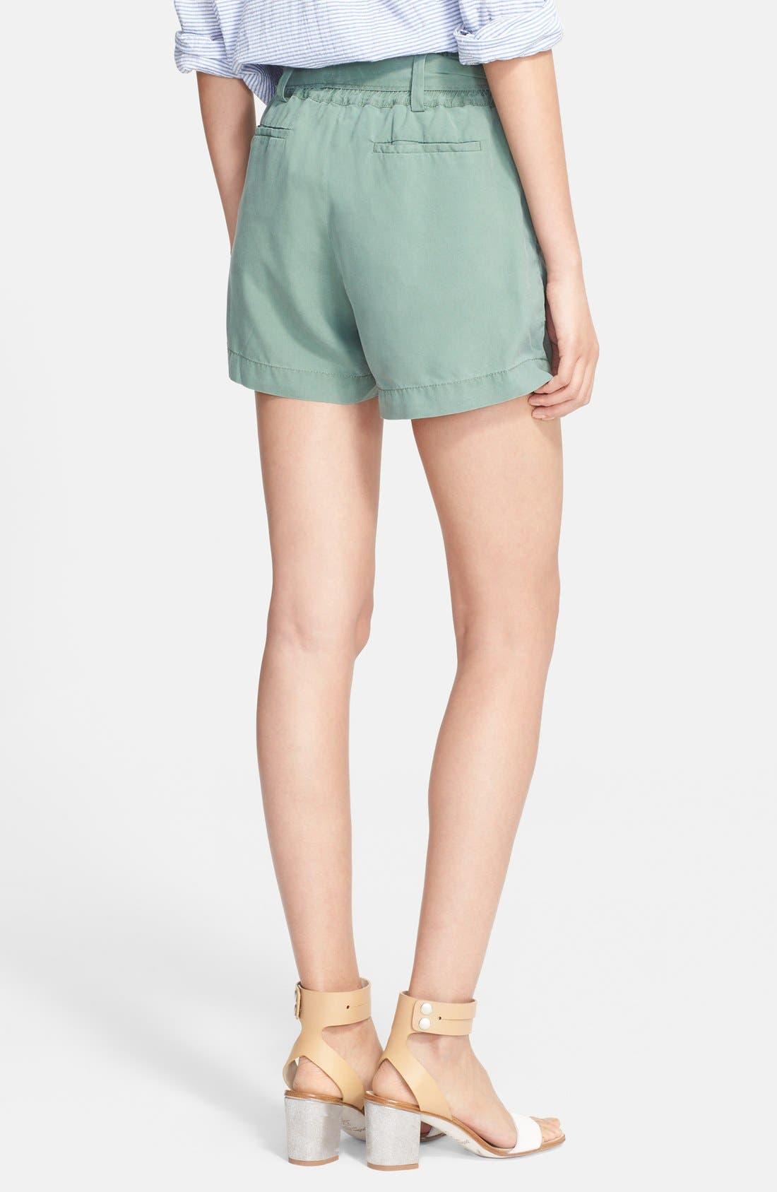 'Chelsea' Silk Shorts,                             Alternate thumbnail 2, color,                             319