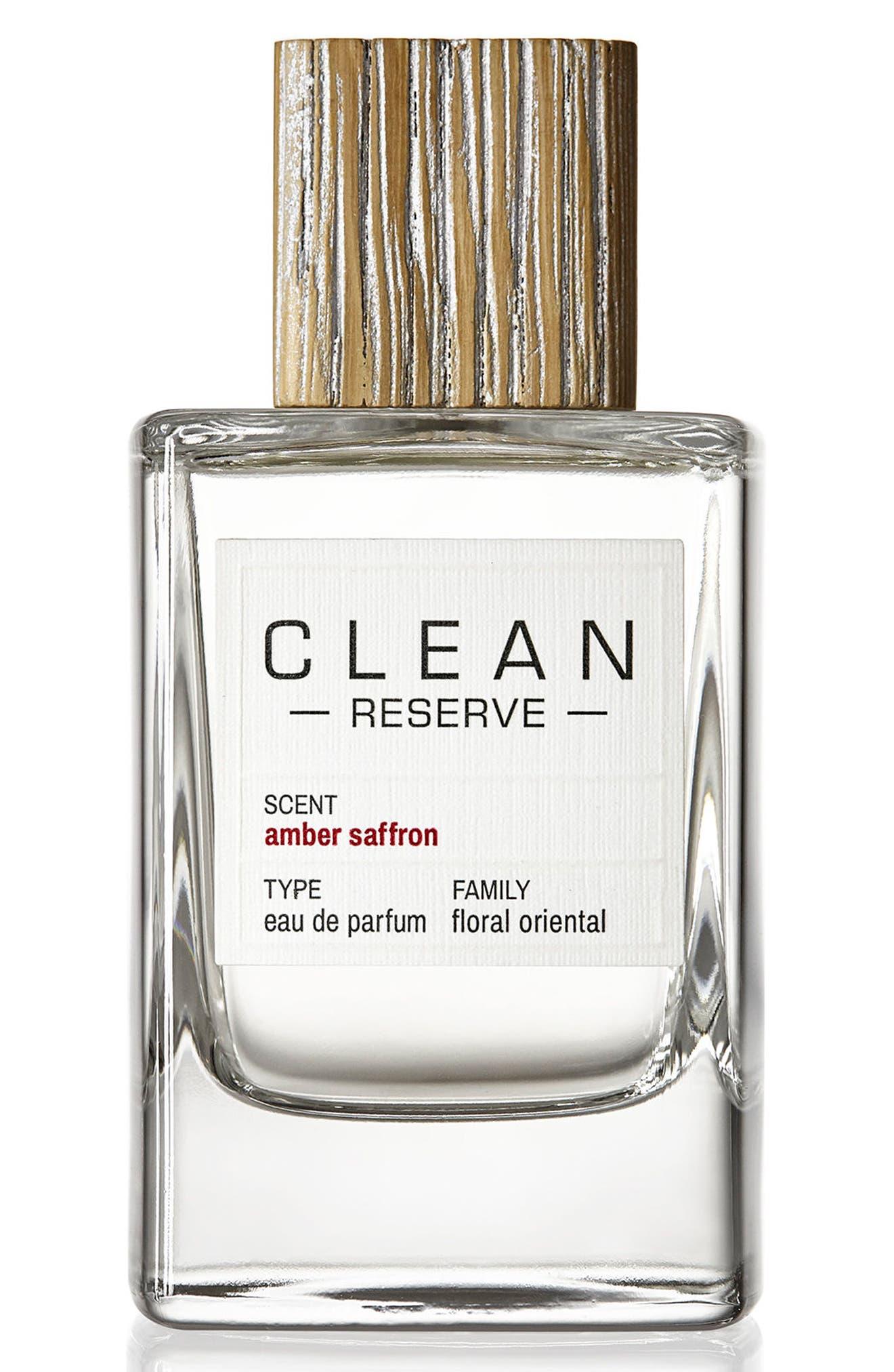 Amber Saffron Eau de Parfum,                             Main thumbnail 1, color,                             NO COLOR
