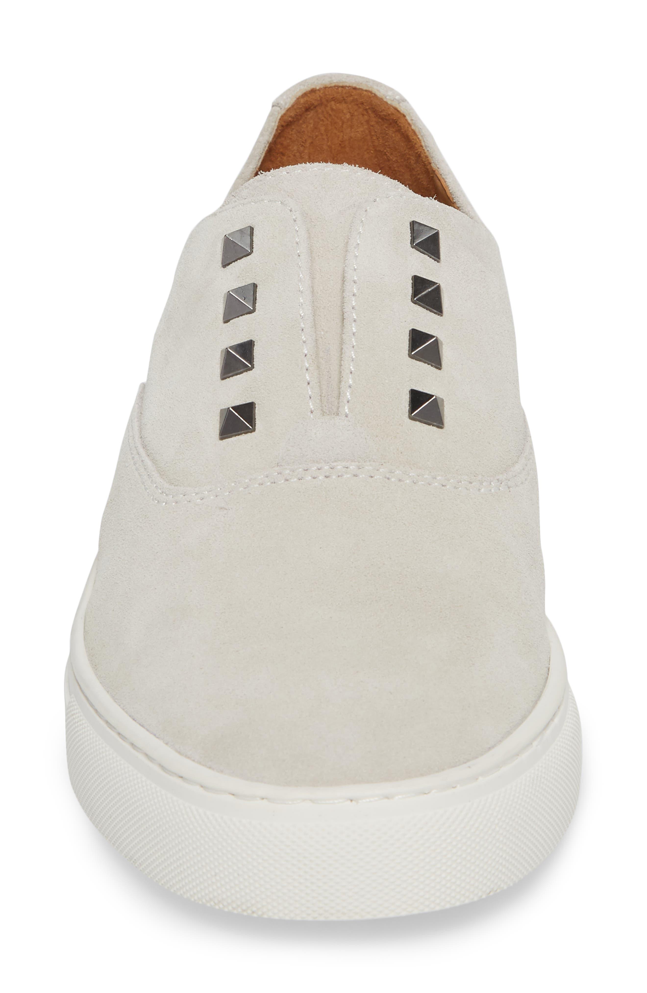 Aryo Studded Laceless Sneaker,                             Alternate thumbnail 7, color,