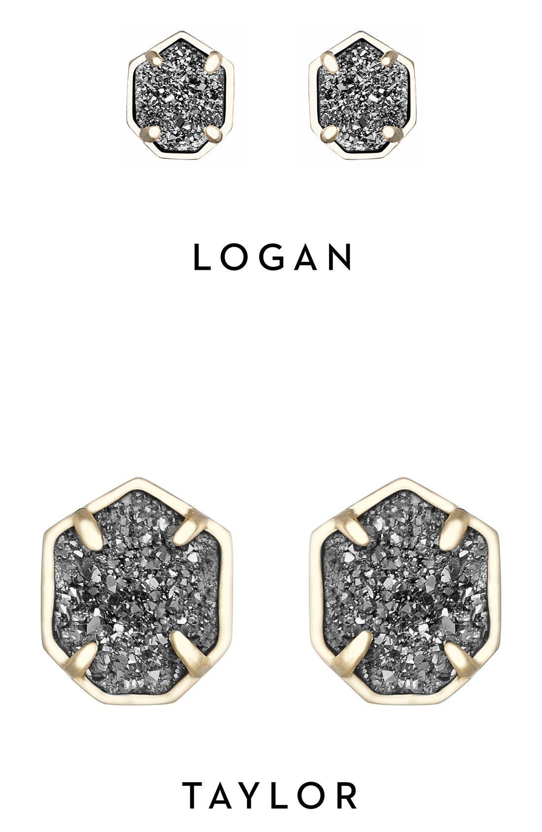 'Logan' Stud Earrings,                             Alternate thumbnail 20, color,
