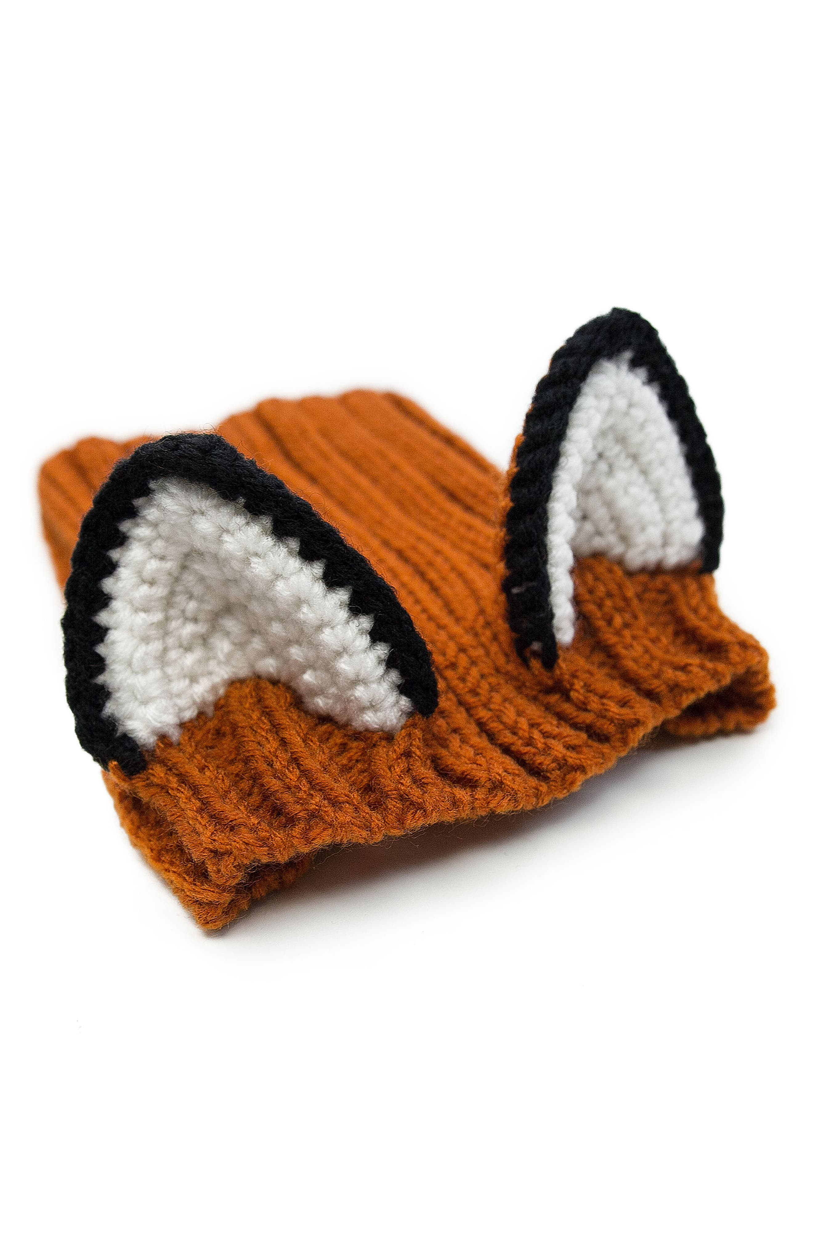Fox Crochet Dog Snood,                             Alternate thumbnail 2, color,                             800