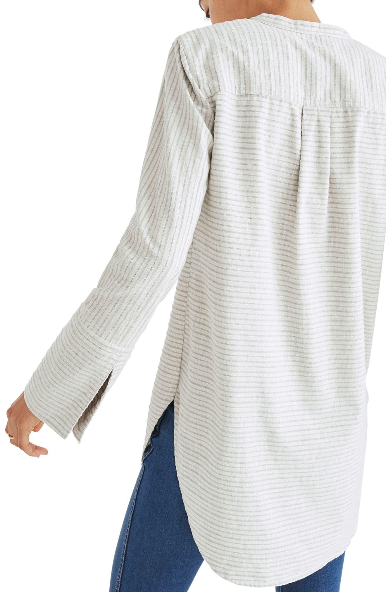 Split Cuff Tunic Shirt,                             Alternate thumbnail 2, color,                             020
