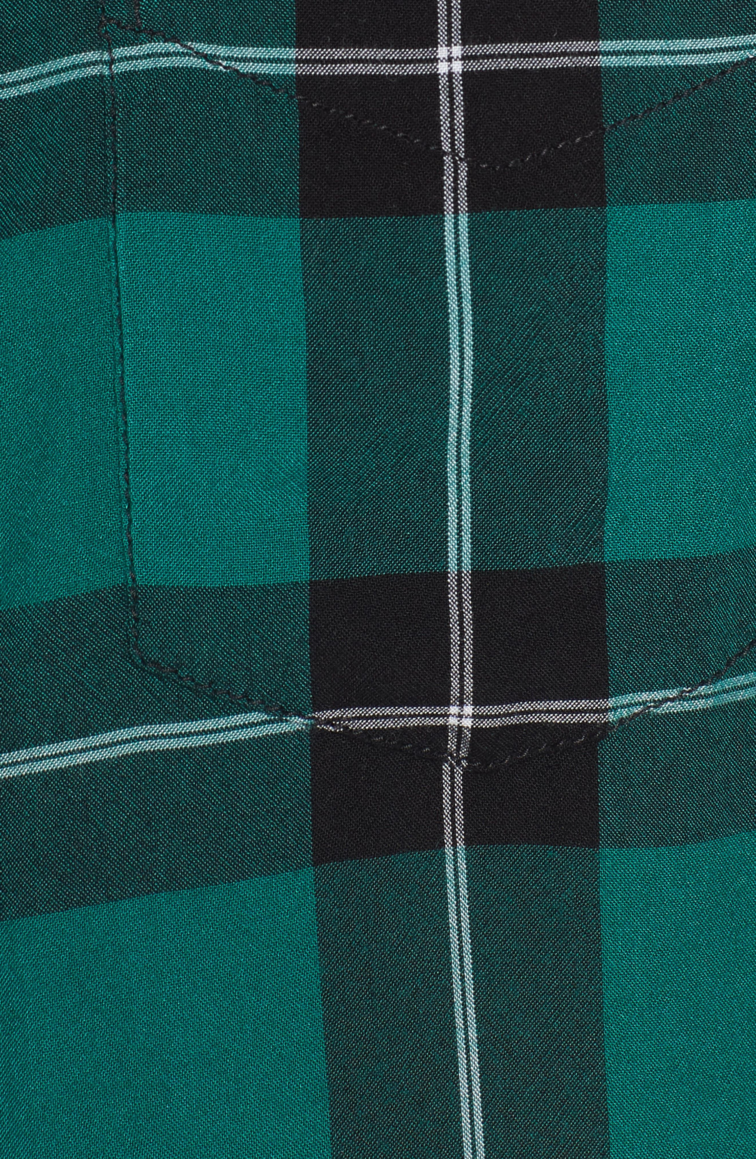 Yarn Dyed Plaid Shirt,                             Alternate thumbnail 5, color,                             001