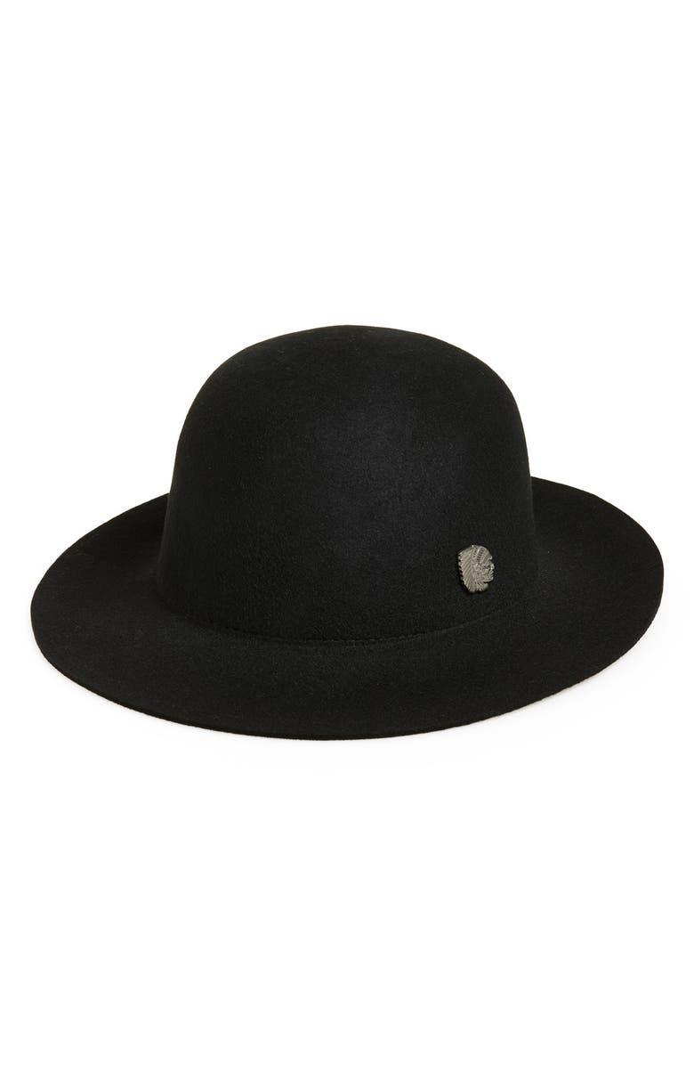 Mens Wide Brim Bowler Hat bc958d29c52