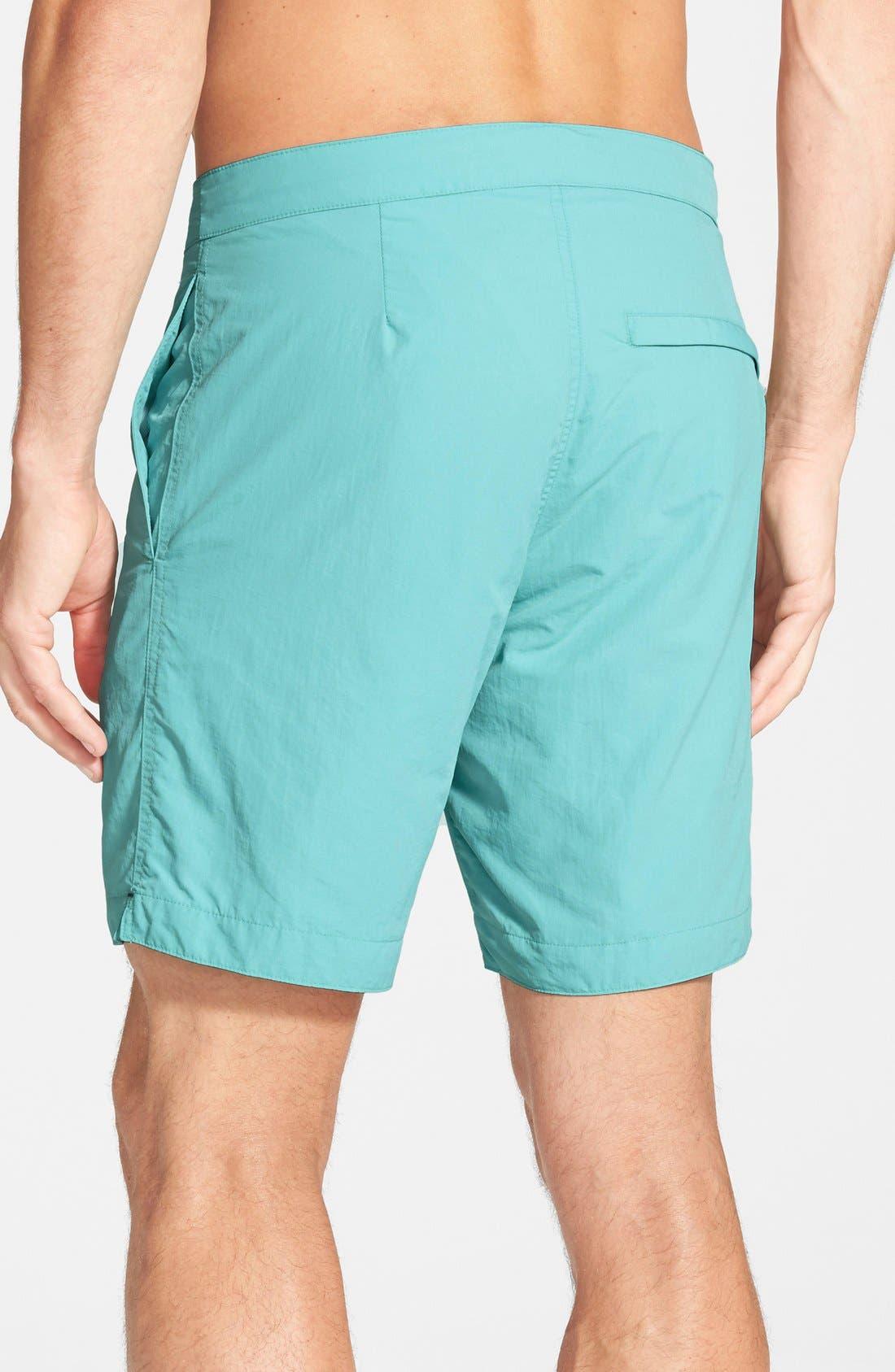 'Aruba - Island' Tailored Fit 8.5 Inch Board Shorts,                             Alternate thumbnail 13, color,