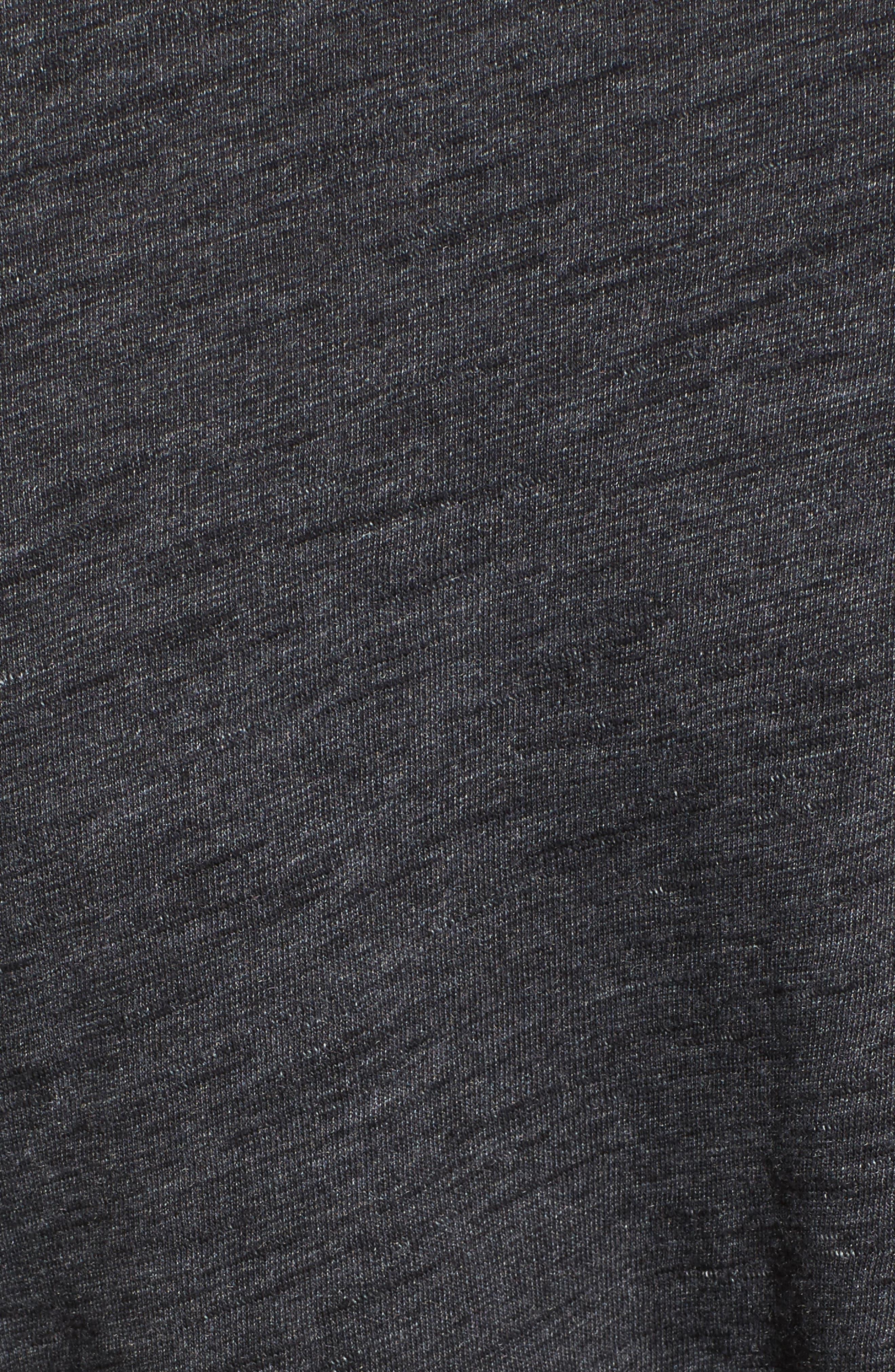 Side Tie Midi T-Shirt Dress,                             Alternate thumbnail 13, color,