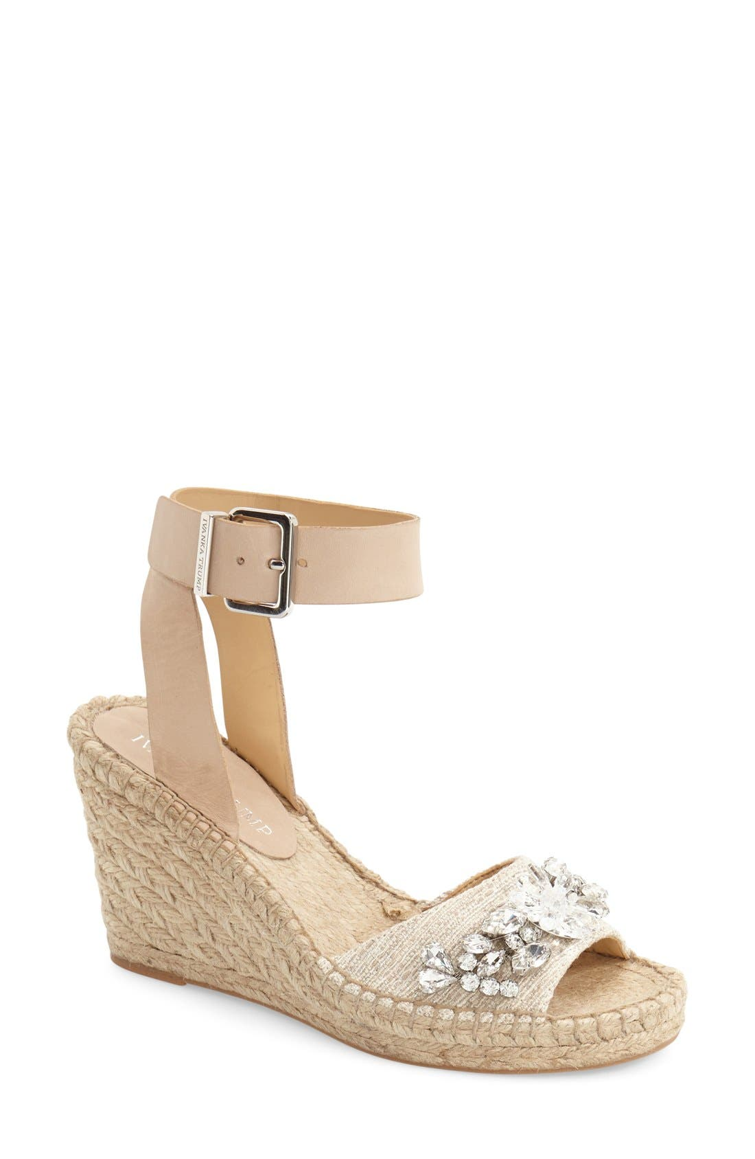 Espadrille Wedge, Main, color, 250