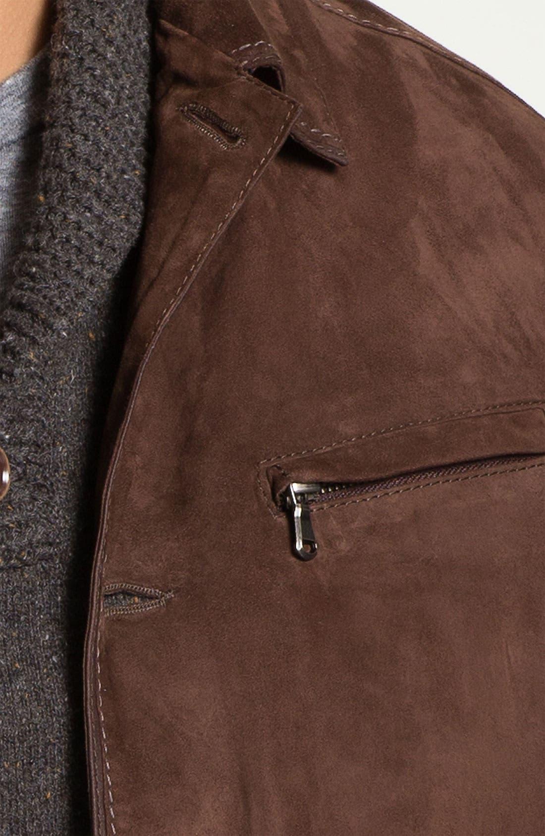 Goatskin Suede Jacket,                             Alternate thumbnail 2, color,                             200