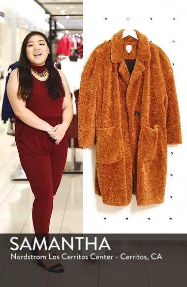 x Atlantic-Pacific Faux Fur Coat, sales video thumbnail