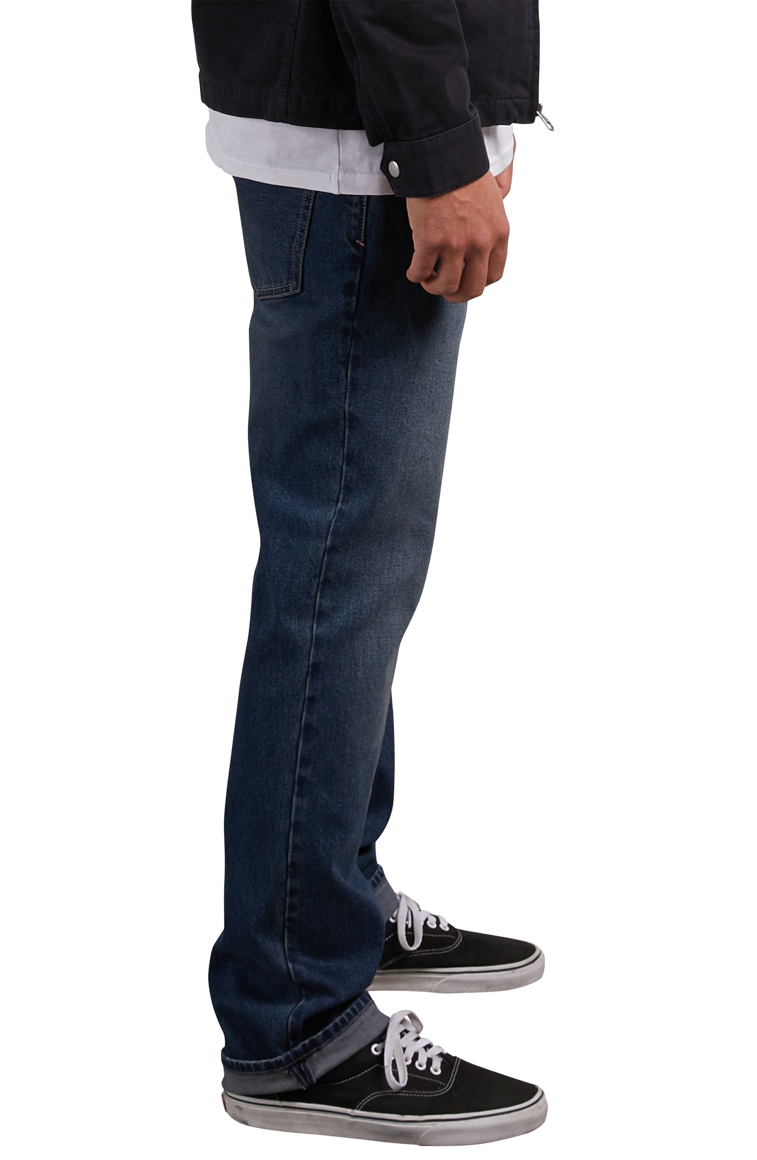 Kinkade Tapered Leg Jeans,                             Alternate thumbnail 3, color,                             BLUE DRY