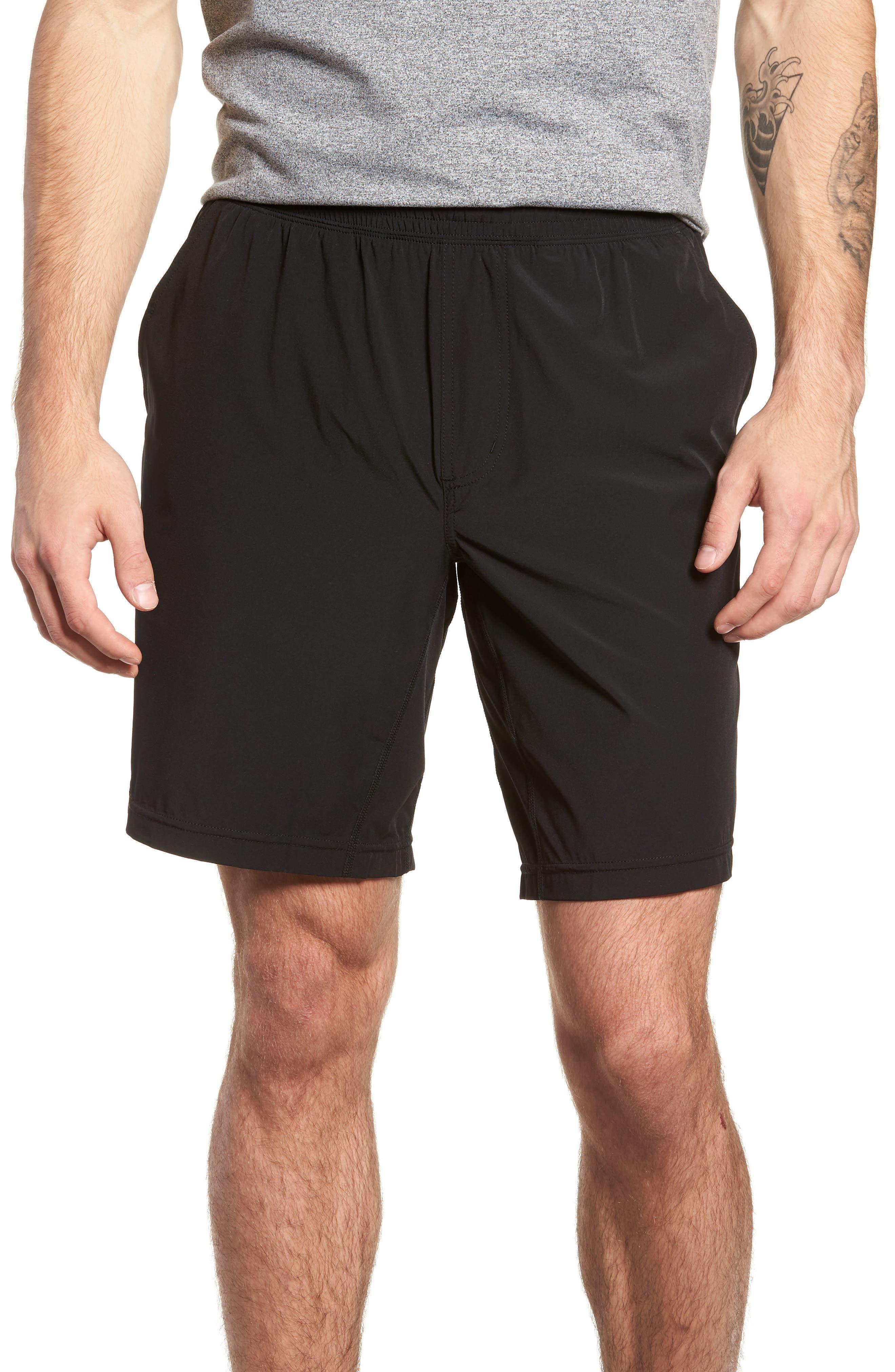 Rhone Mako Training Shorts, Black