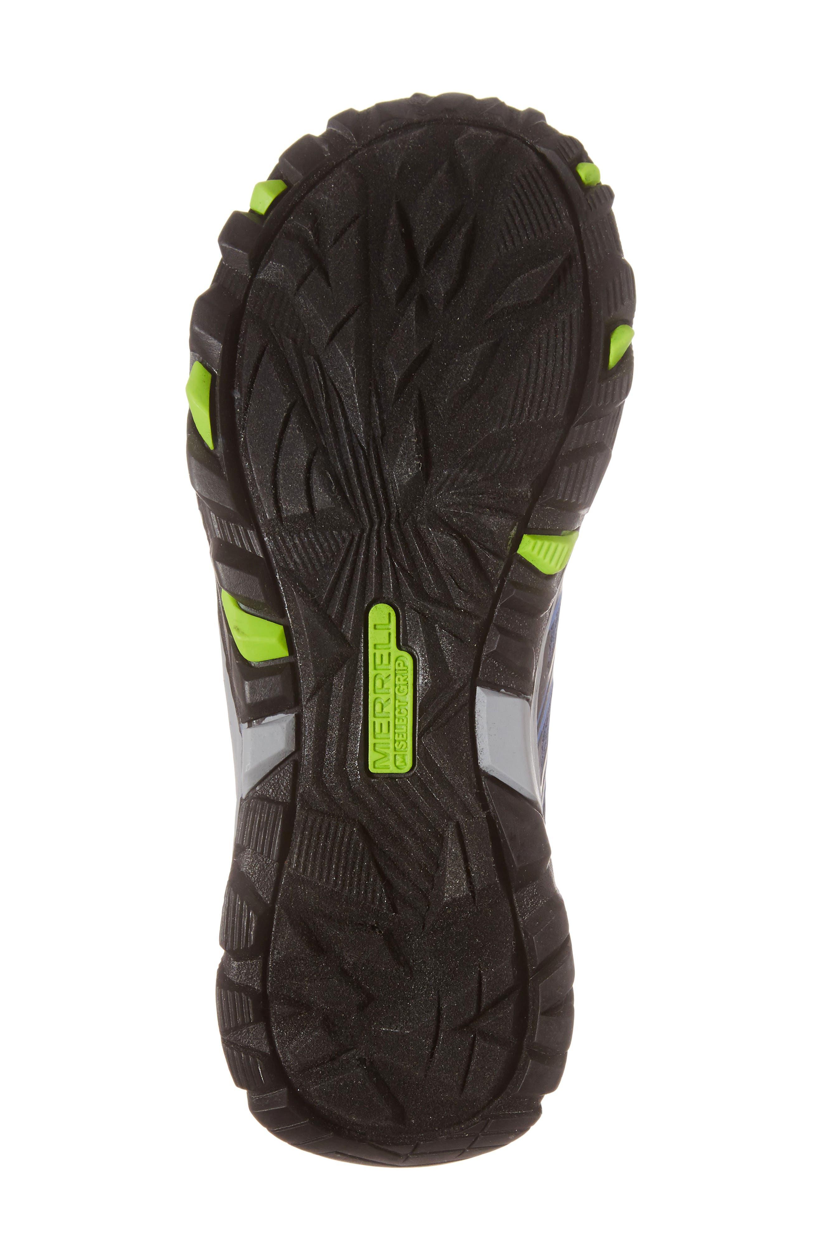Moab FST Polar Low Waterproof Sneaker,                             Alternate thumbnail 6, color,                             NAVY/ BLUE