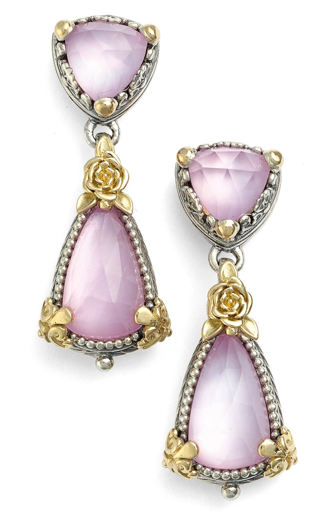 'Iliada' Double Drop Earrings,                             Main thumbnail 1, color,                             040
