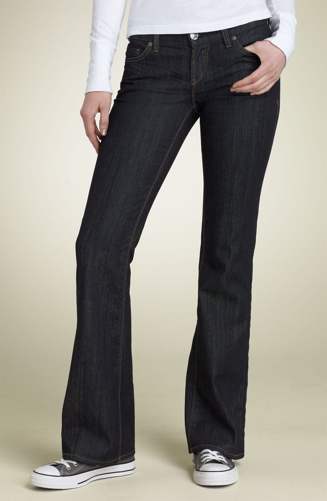!IT COLLECTIVE,                             !iT JEANS 'Diva' Bootcut Stretch Jeans,                             Main thumbnail 1, color,                             419