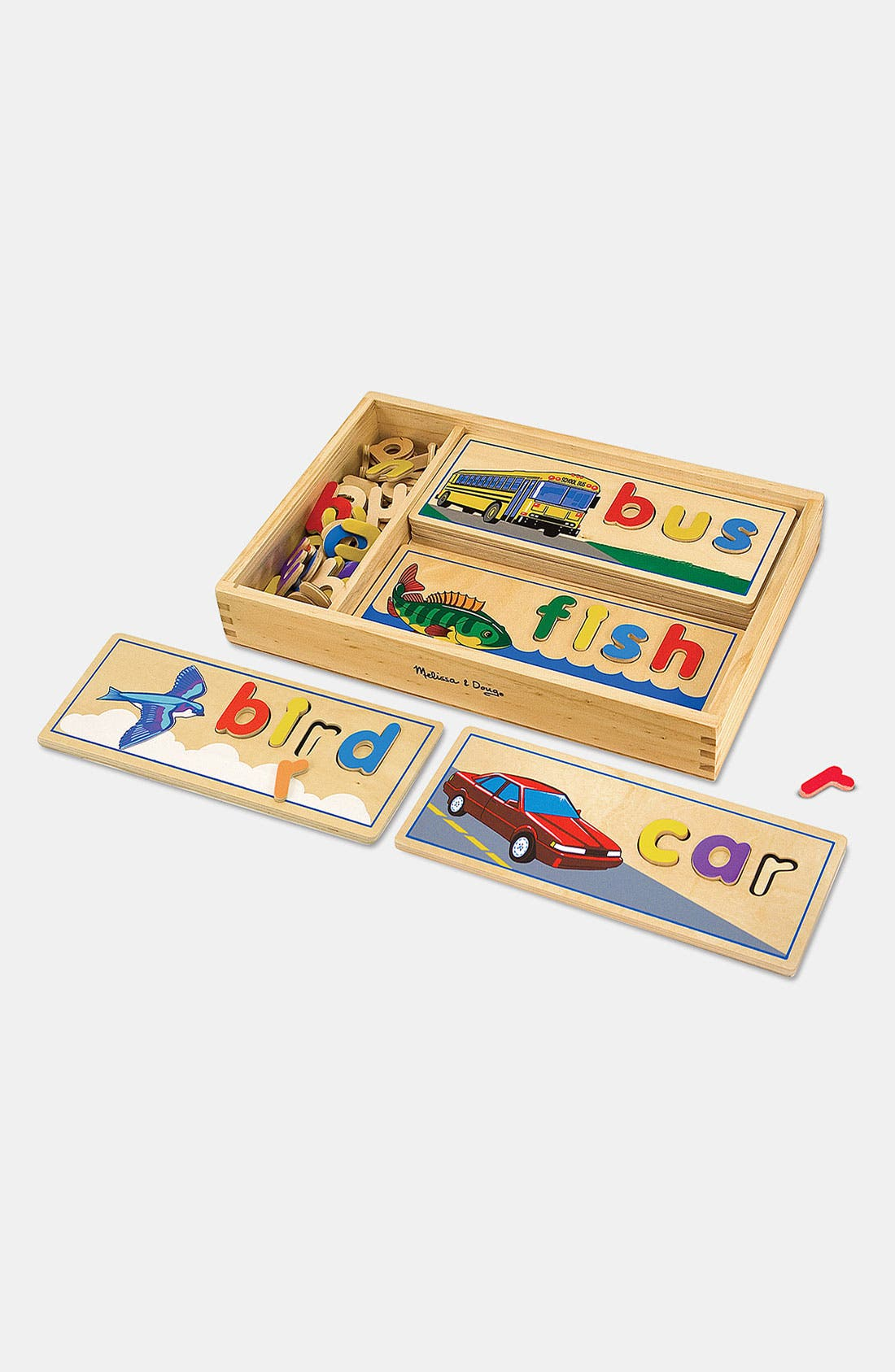 Toddler Boys Melissa  Doug See  Spell Learning Toy