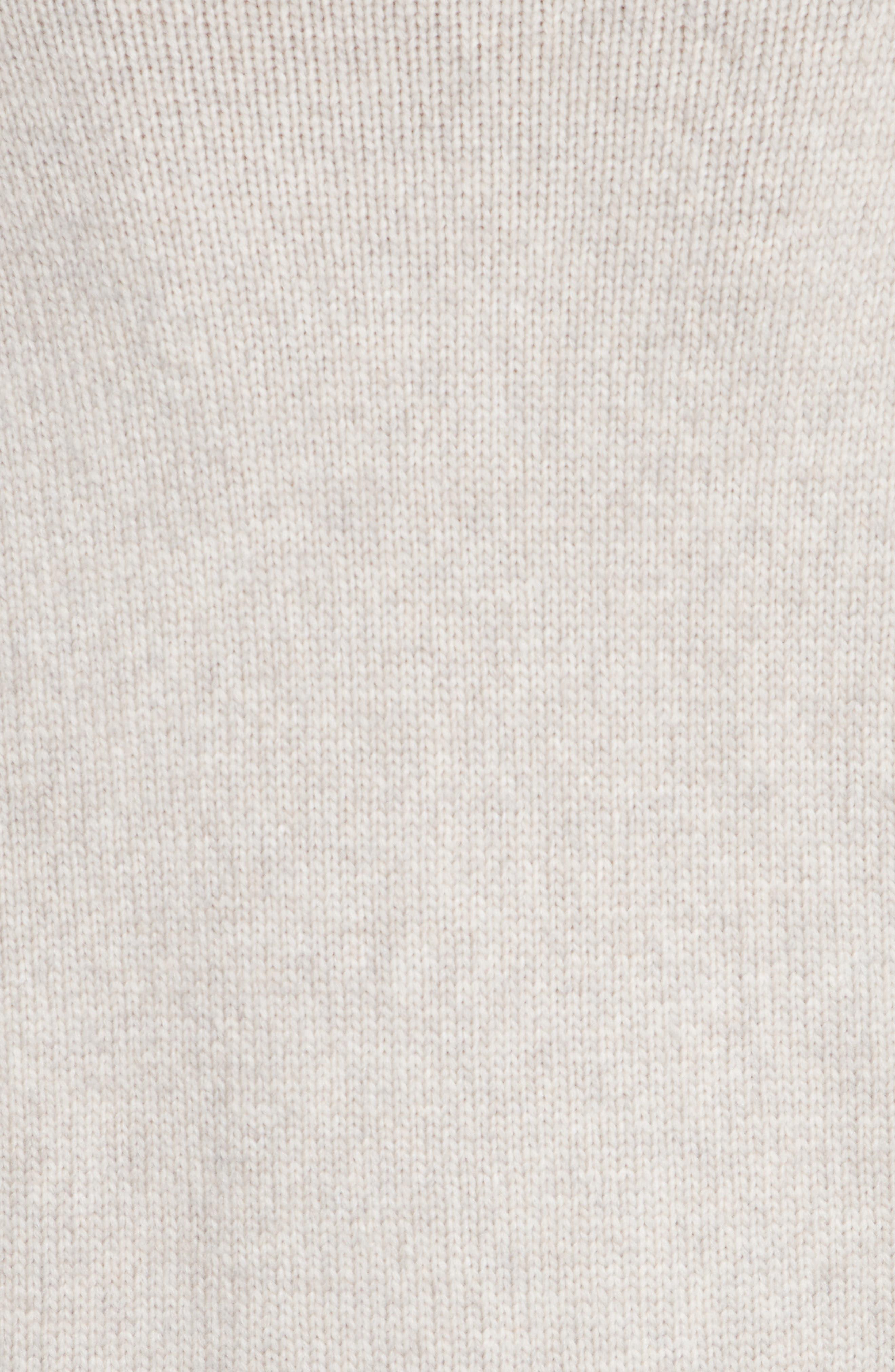 Asymmetrical Wide Neck Sweater,                             Alternate thumbnail 5, color,                             250