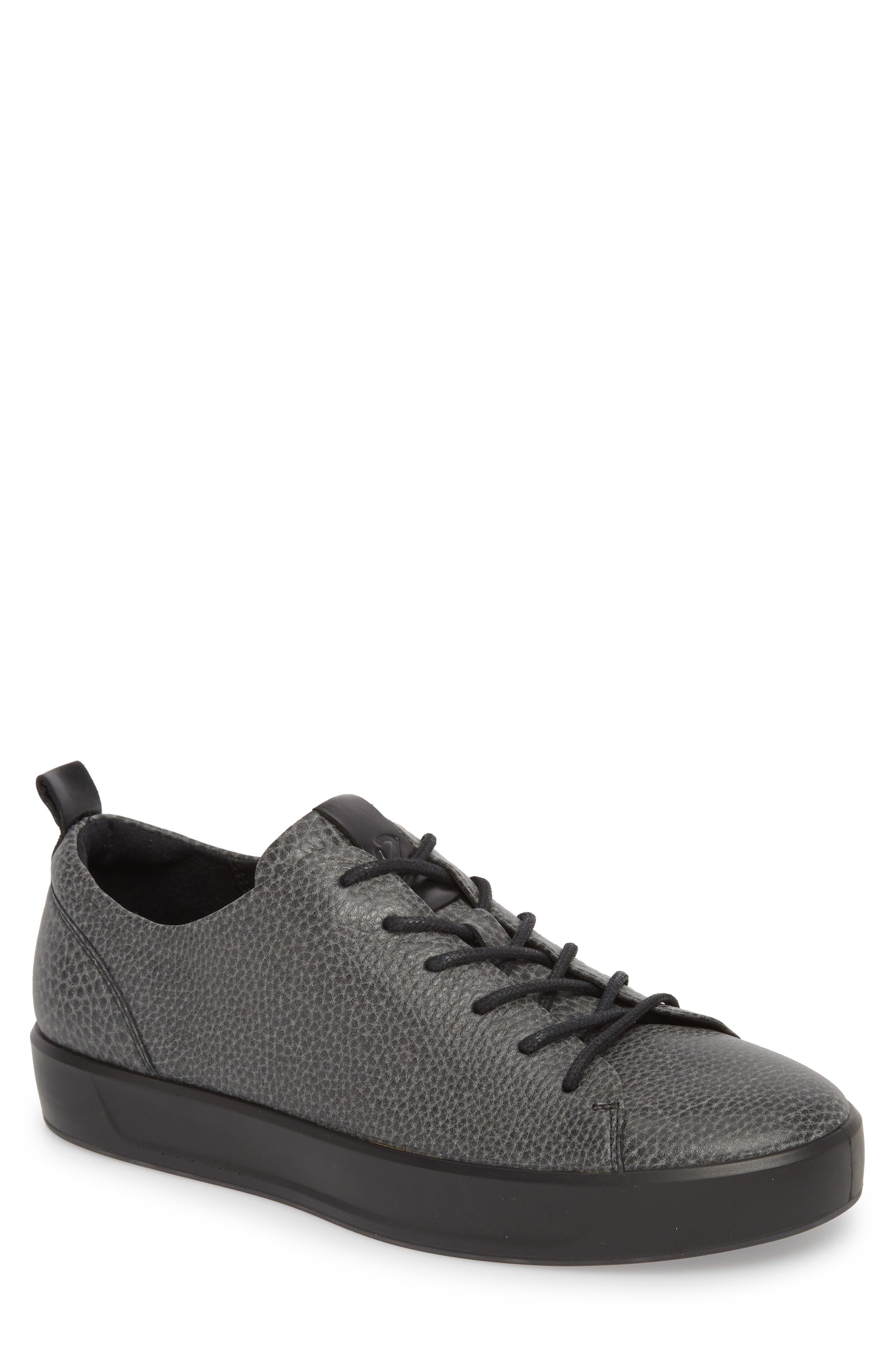 Soft 8 Tie II Low Top Sneaker,                             Main thumbnail 1, color,                             BLACK