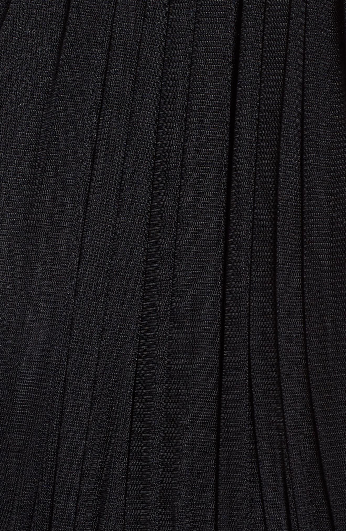 Taylor Halter Maxi Dress,                             Alternate thumbnail 5, color,                             001